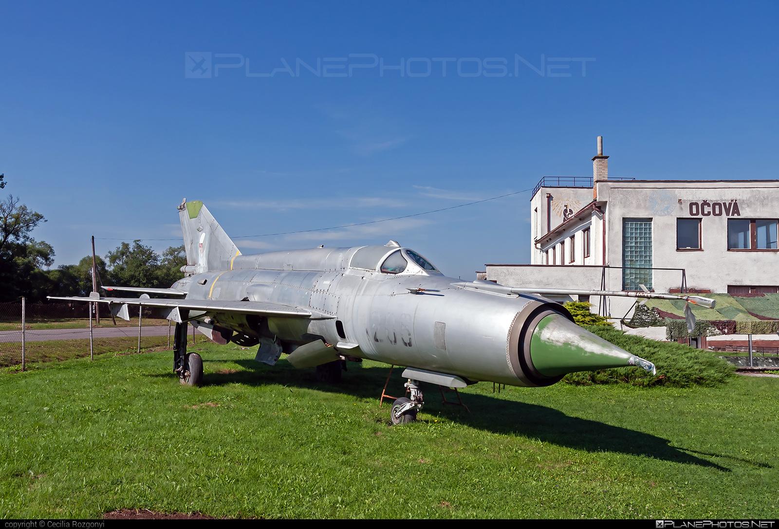 Mikoyan-Gurevich MiG-21MA - 1206 operated by Vzdušné sily OS SR (Slovak Air Force) #mig #mig21 #mig21ma #mikoyangurevich #slovakairforce #vzdusnesilyossr