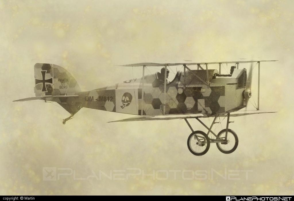 Aviatik D.I - OM-M812 operated by Private operator #aviatik