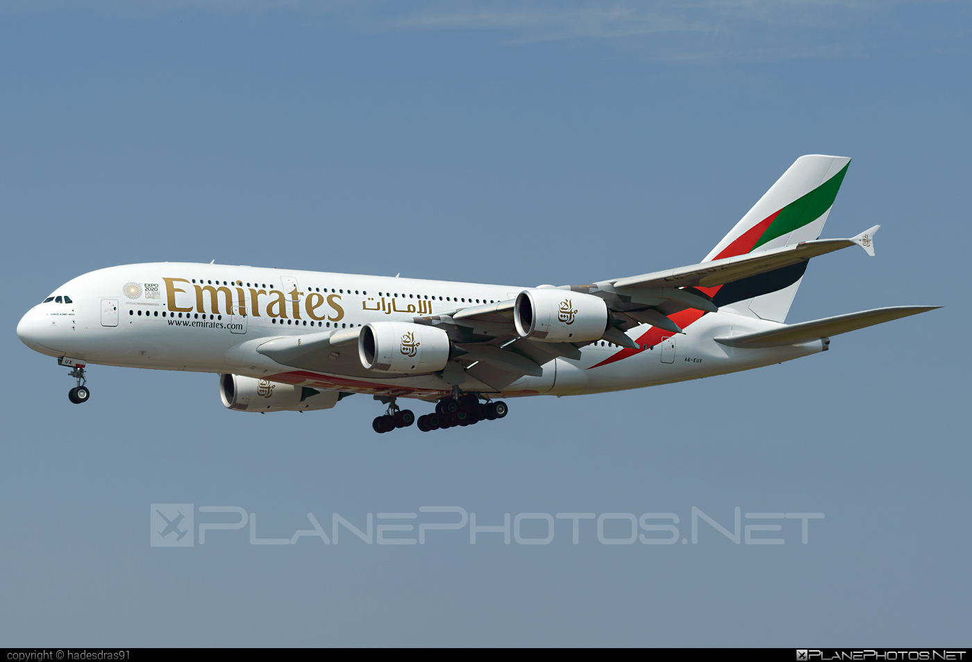 Airbus A380-842 - A6-EUX operated by Emirates #a380 #a380family #airbus #airbus380 #emirates