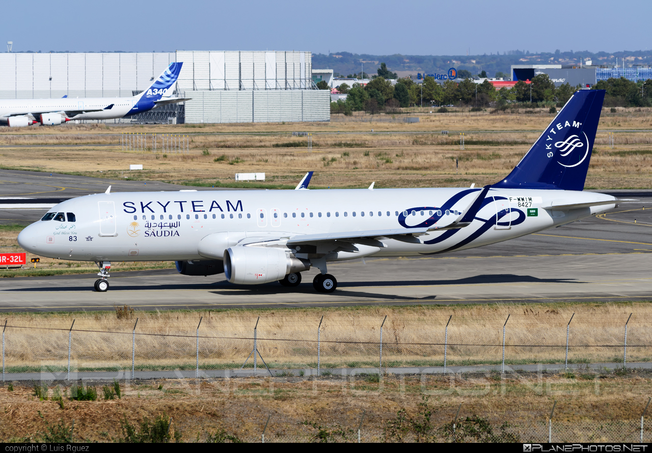 Airbus A320-214 - F-WWIM operated by Saudi Arabian Airlines #a320 #a320family #airbus #airbus320 #skyteam