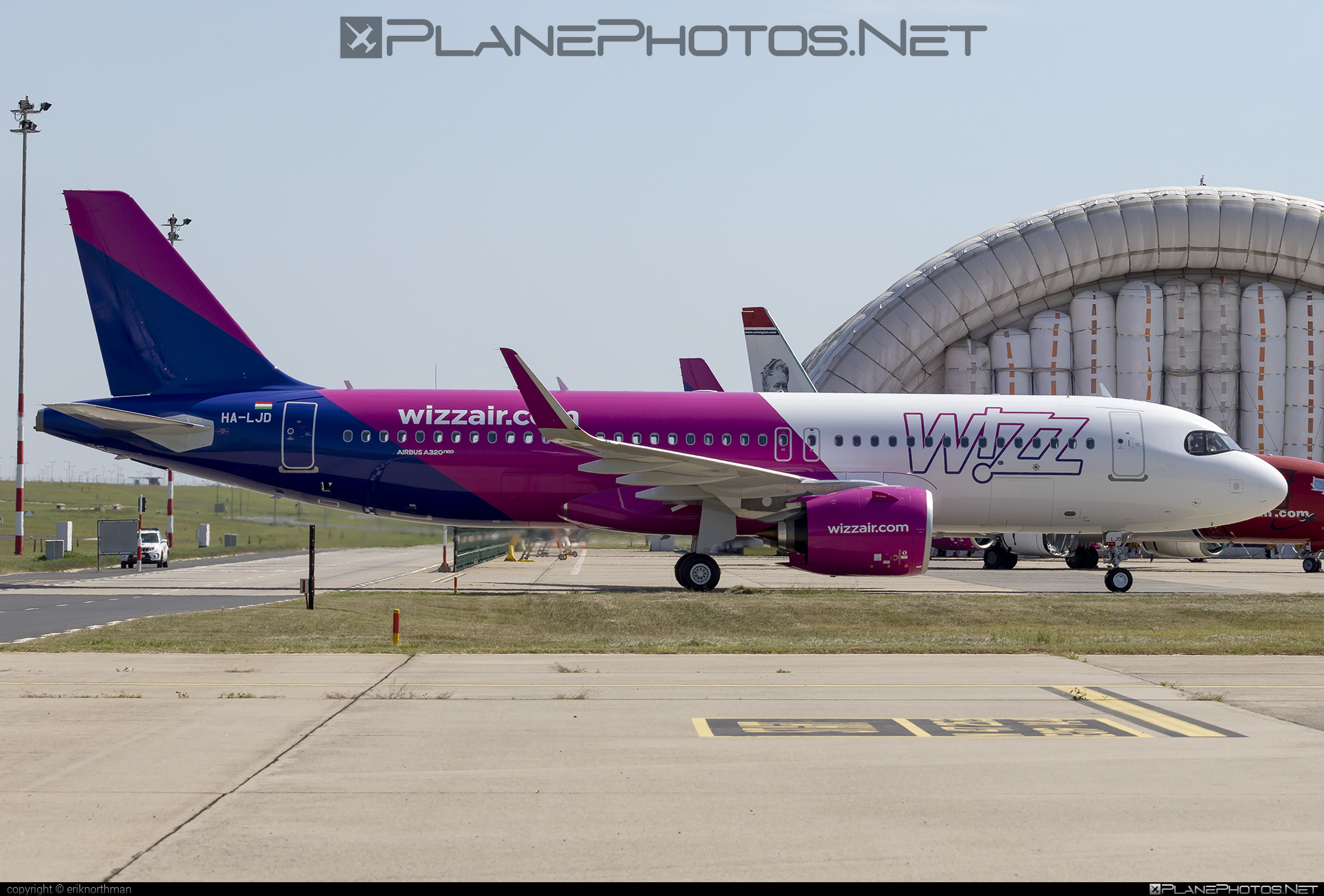 Airbus A320-271N - HA-LJD operated by Wizz Air #a320 #a320family #a320neo #airbus #airbus320 #wizz #wizzair