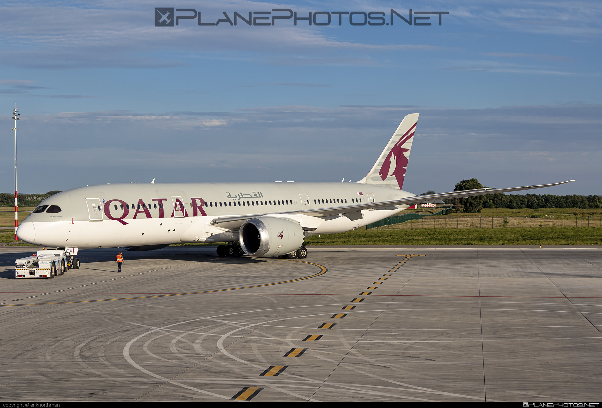 Boeing 787-8 Dreamliner - A7-BCP operated by Qatar Airways #b787 #boeing #boeing787 #dreamliner #qatarairways