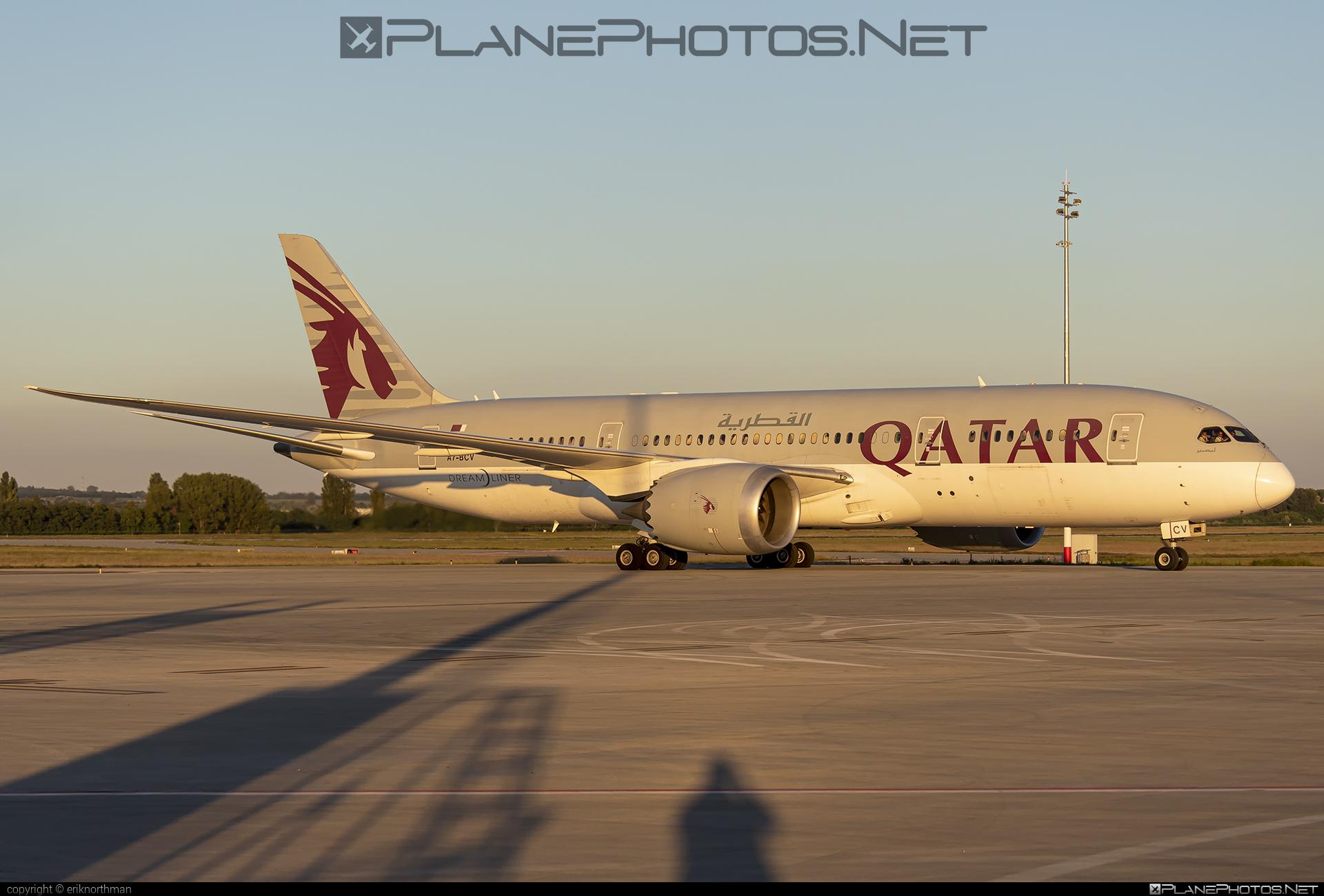 Boeing 787-8 Dreamliner - A7-BCV operated by Qatar Airways #b787 #boeing #boeing787 #dreamliner #qatarairways