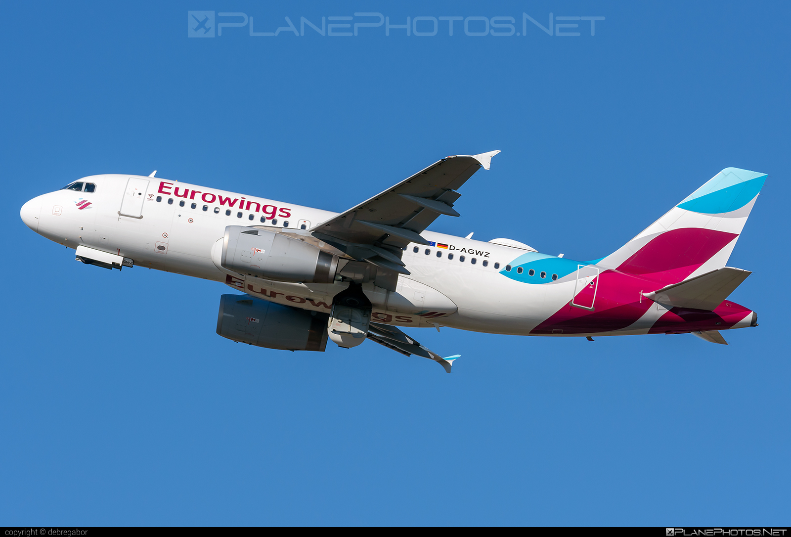 Airbus A319-132 - D-AGWZ operated by Eurowings #a319 #a320family #airbus #airbus319 #eurowings