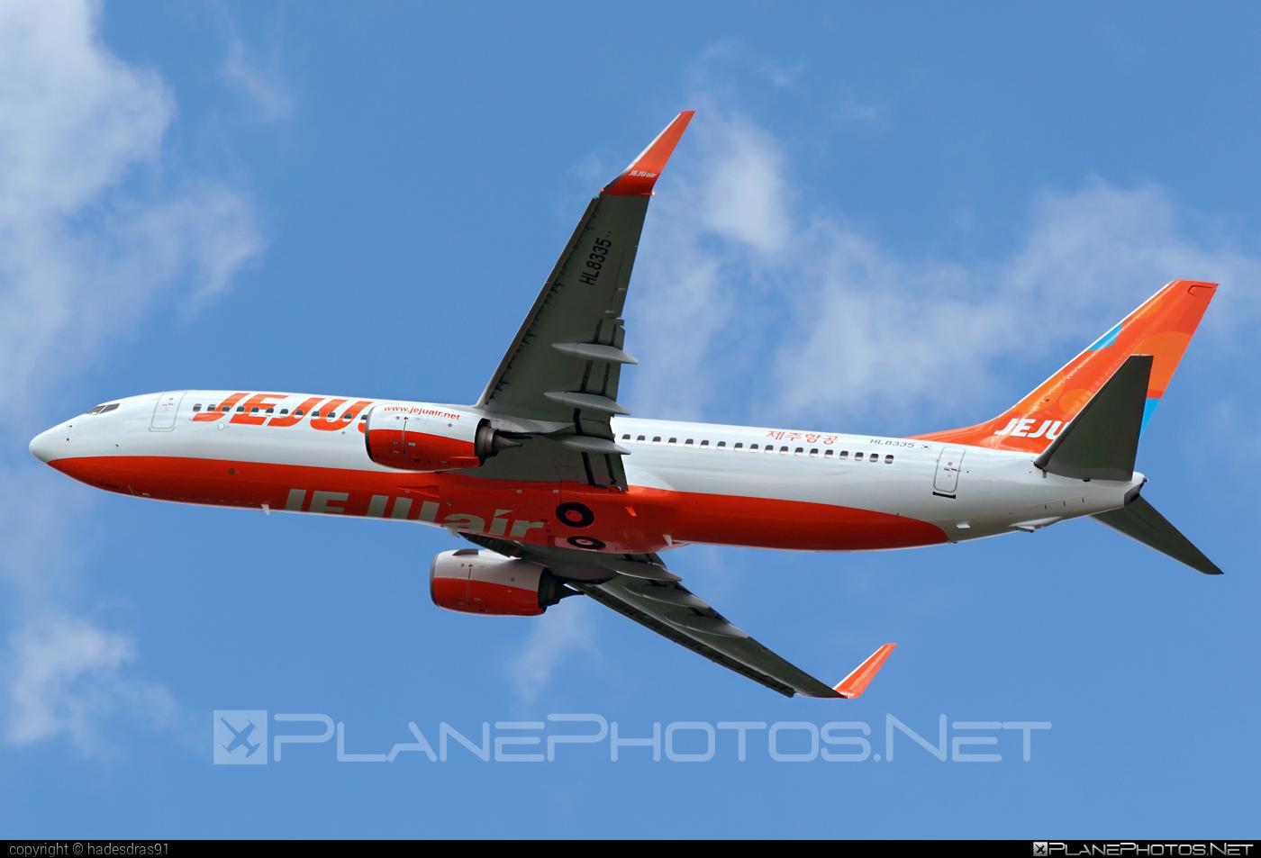Boeing 737-800 - HL8335 operated by Jeju Air #b737 #b737nextgen #b737ng #boeing #boeing737 #jejuair
