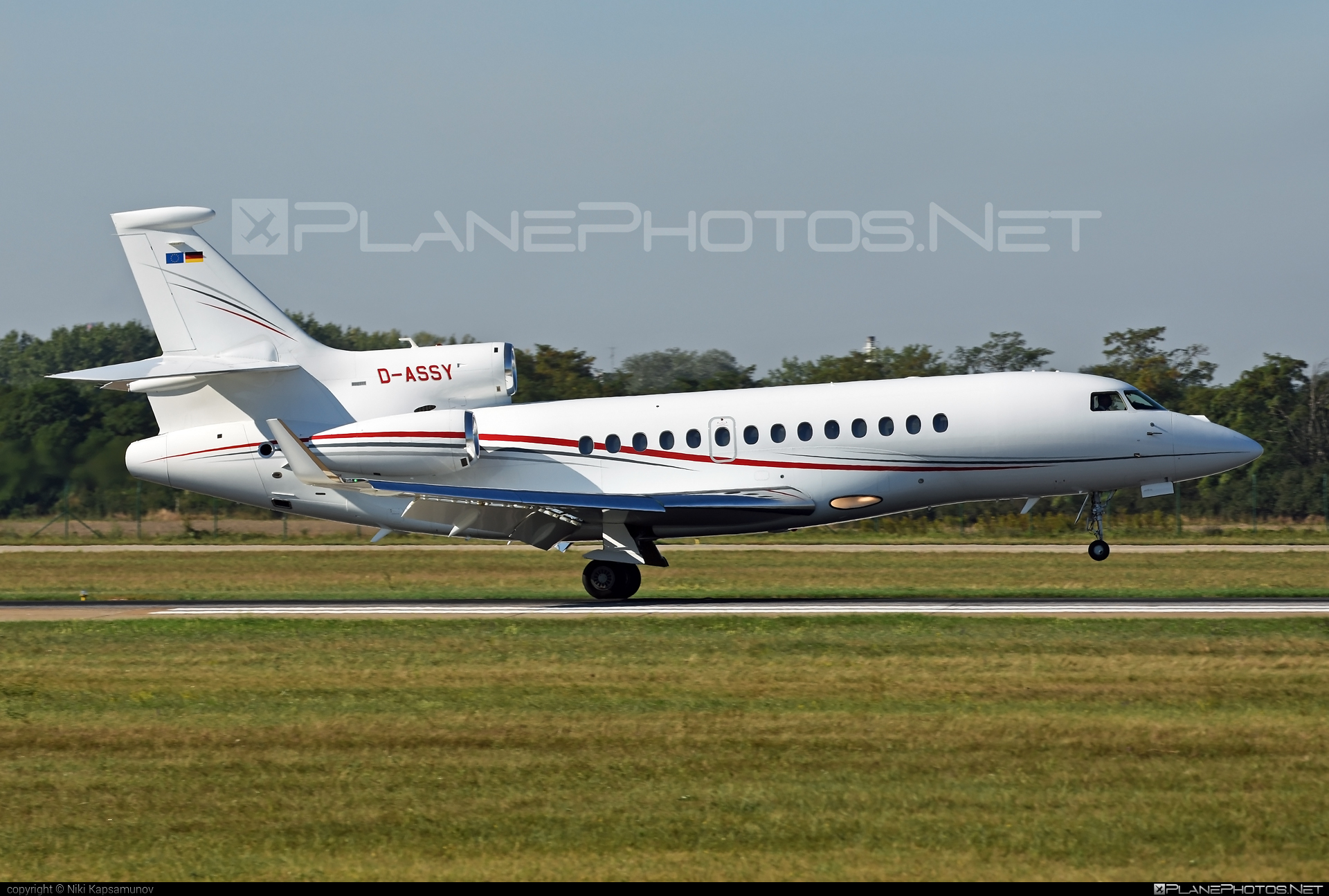 Dassault Falcon 7X - D-ASSY operated by Private operator #dassault #dassaultfalcon #dassaultfalcon7x #falcon7x