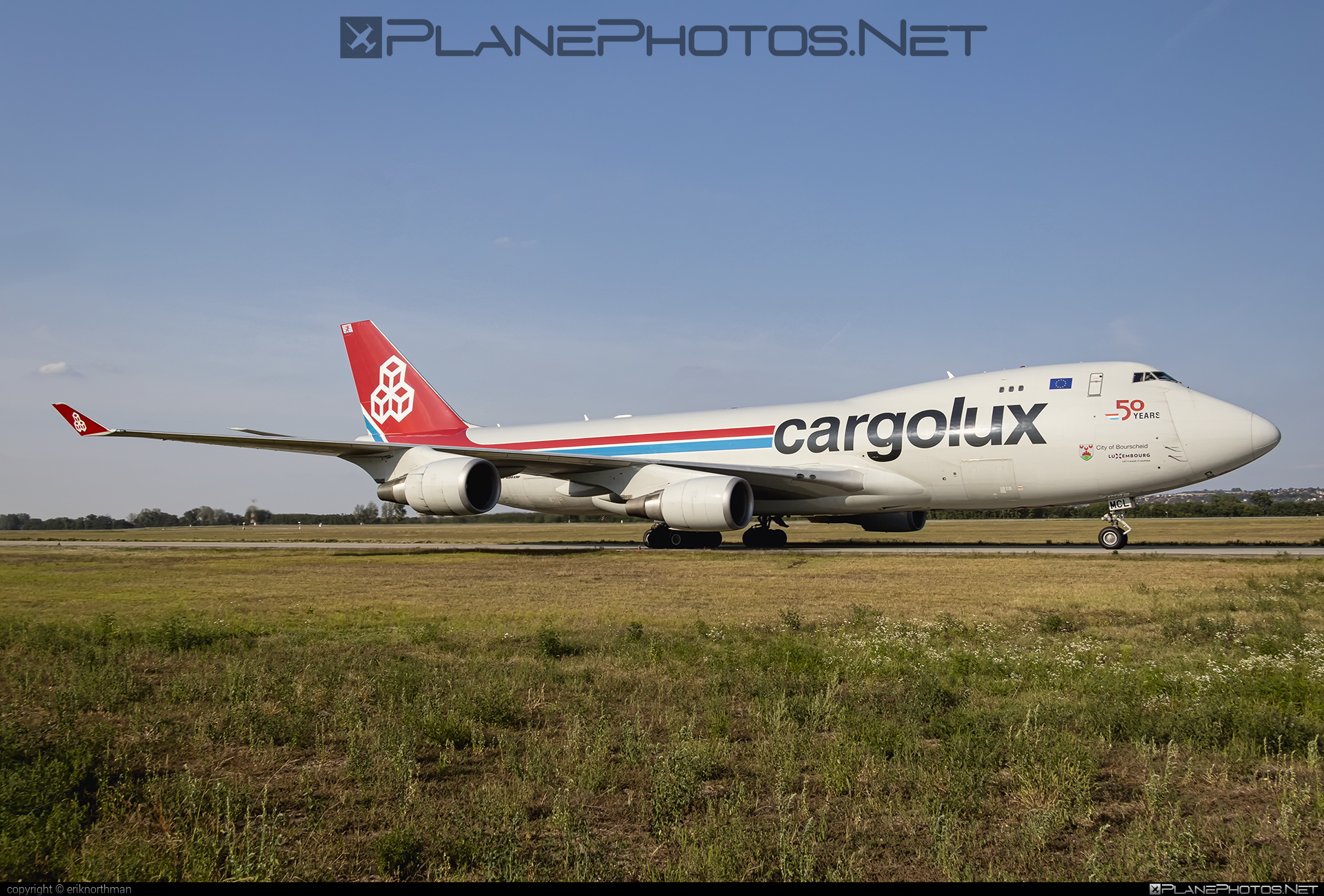 Boeing 747-400ERF - LX-MCL operated by Cargolux Airlines International #b747 #b747erf #b747freighter #boeing #boeing747 #cargolux #jumbo