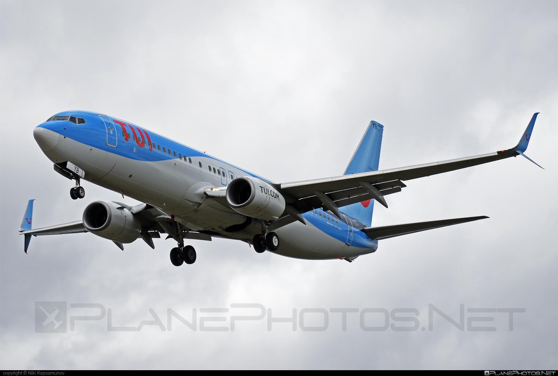Boeing 737-800 - D-ATYB operated by TUIfly #b737 #b737nextgen #b737ng #boeing #boeing737 #tui #tuifly