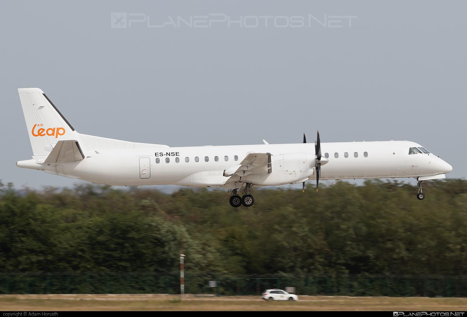 Saab 2000 - ES-NSE operated by Air Leap #airleap #saab