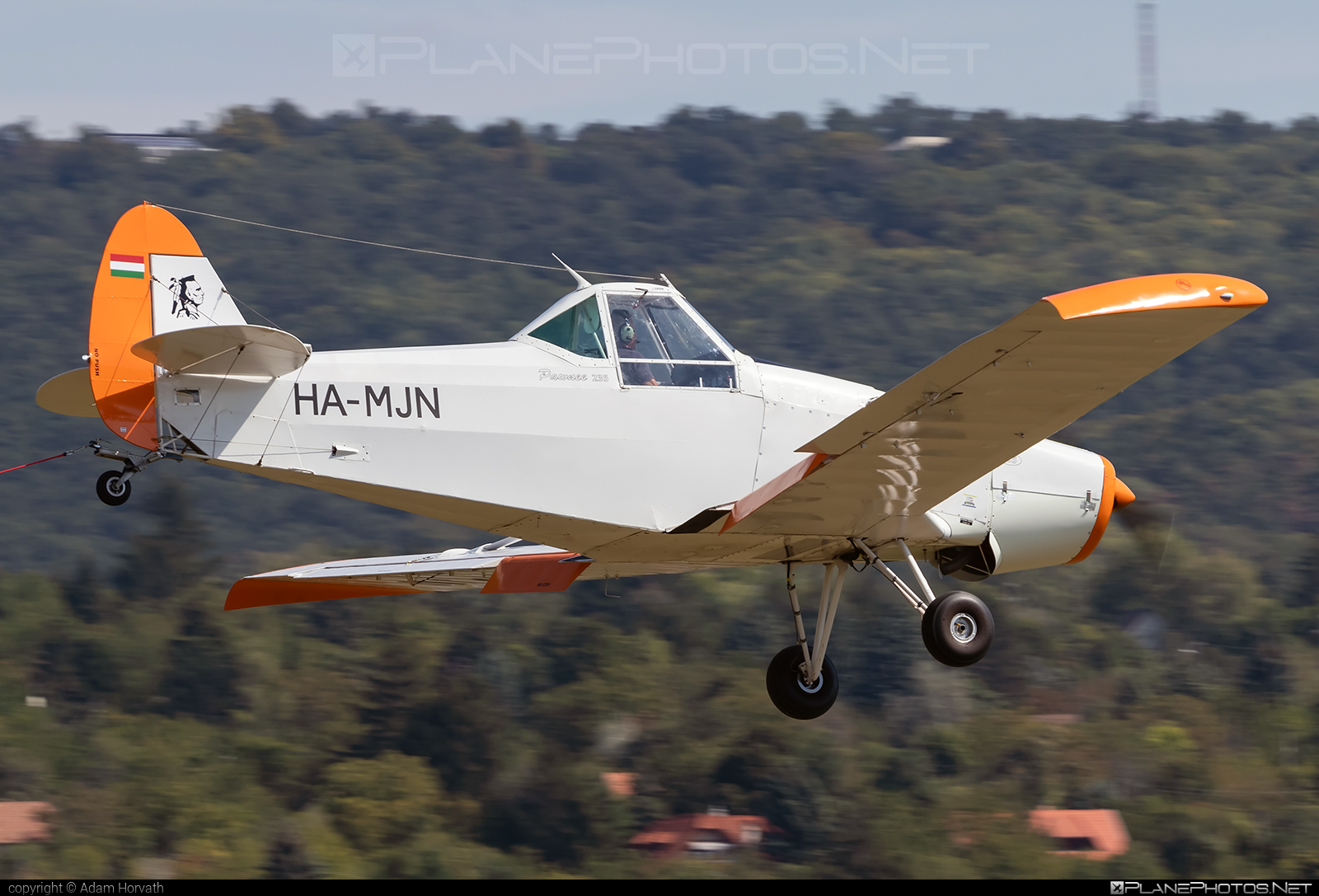 Piper PA-25-235 Pawnee B - HA-MJN operated by Private operator #piper