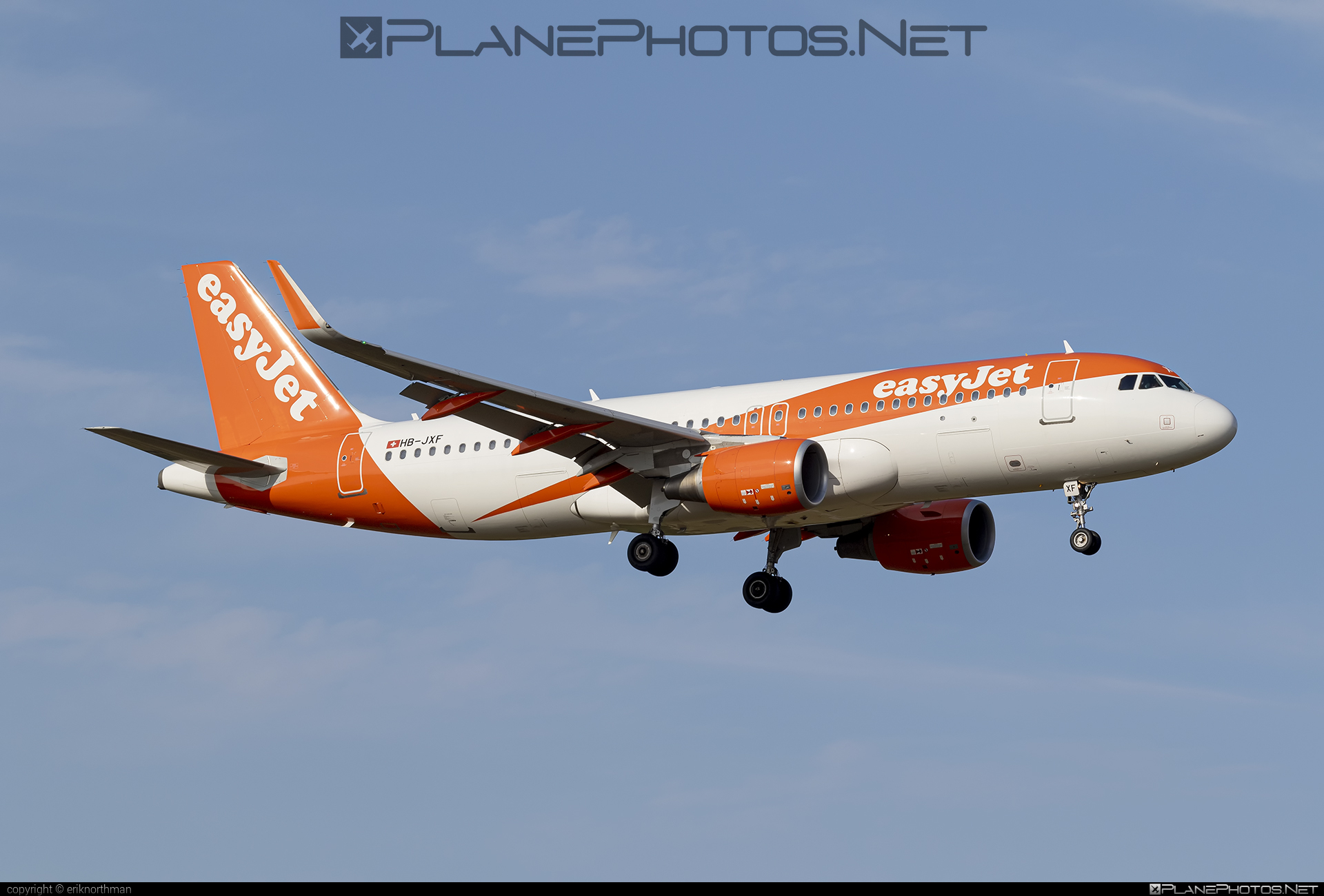 Airbus A320-214 - HB-JXF operated by easyJet Switzerland #a320 #a320family #airbus #airbus320 #easyjet #easyjetswitzerland