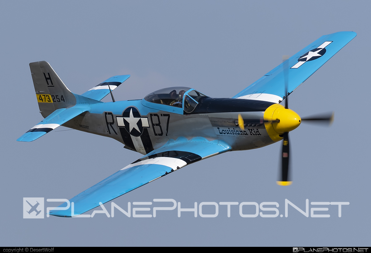 North American P-51D Mustang - N6328T operated by Private operator #northamerican