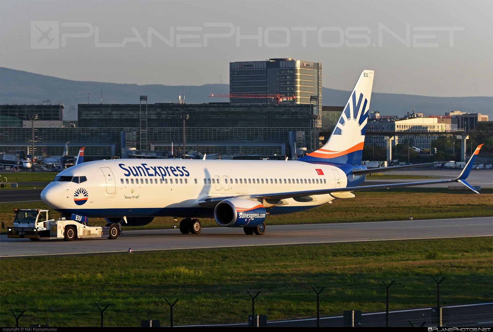 Boeing 737-800 - TC-SEU operated by SunExpress #b737 #b737nextgen #b737ng #boeing #boeing737 #sunexpress