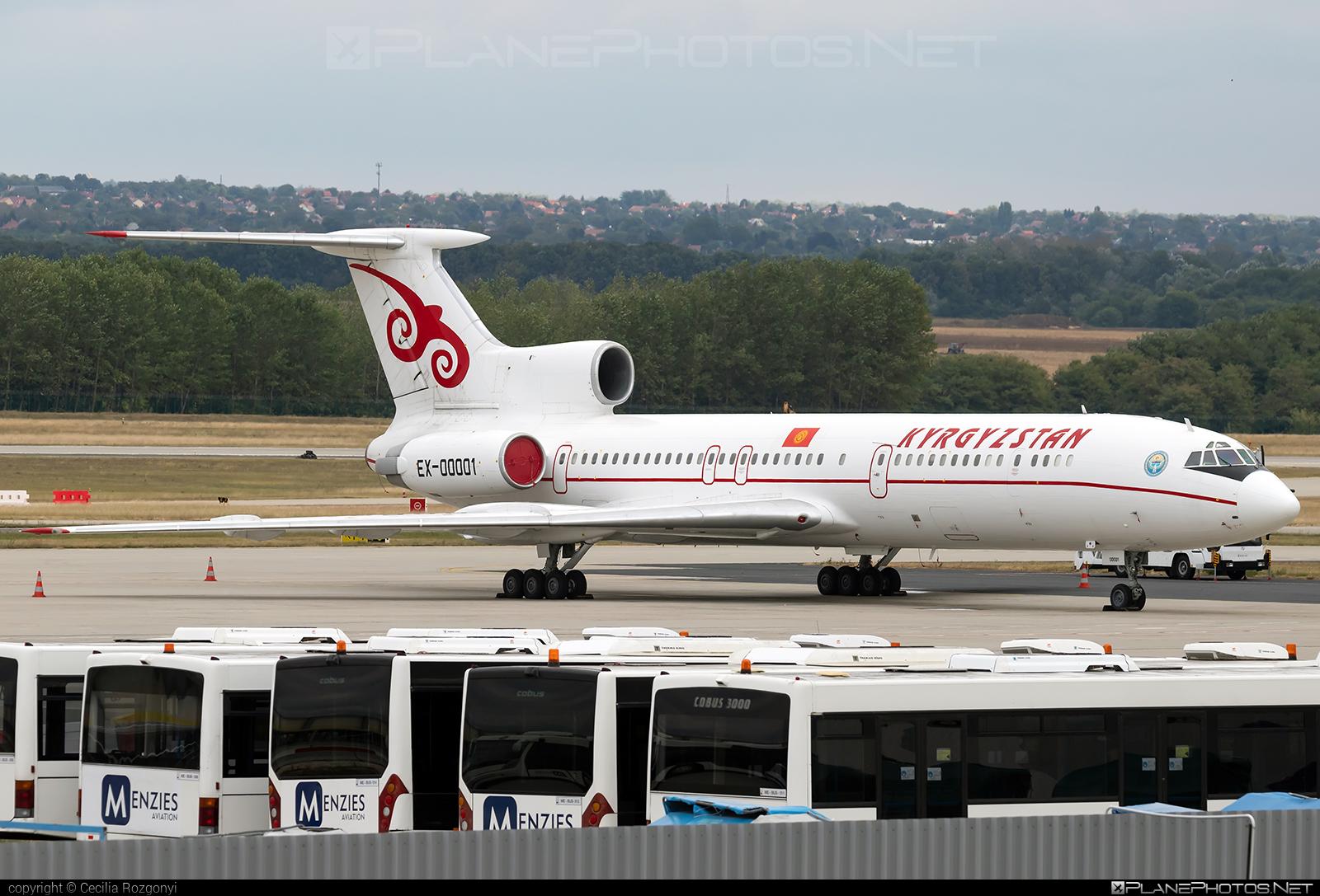 Tupolev Tu-154M - EX-00001 operated by Kyrgyzstan Airlines #tu154 #tu154m #tupolev