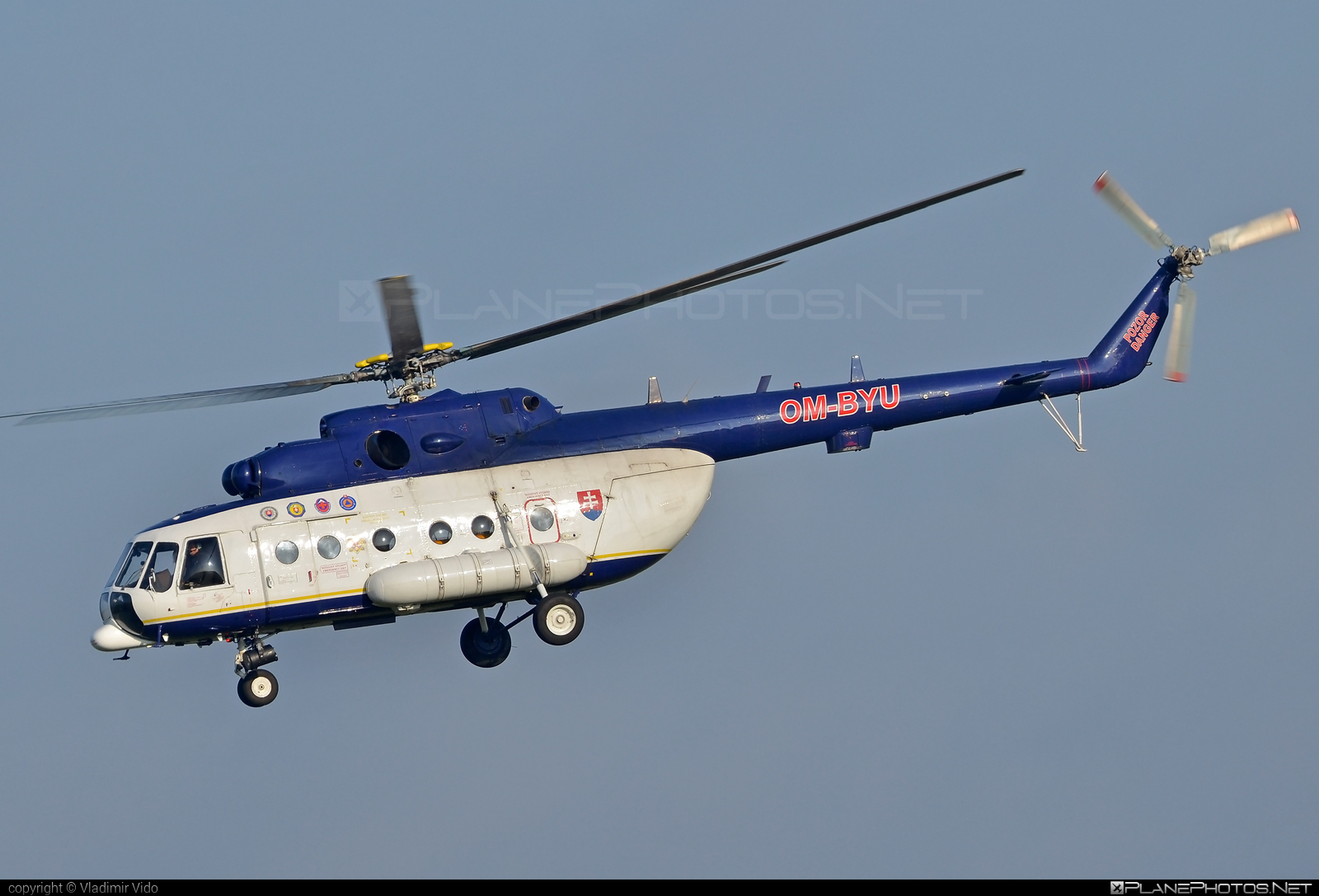 Mil Mi-171 - OM-BYU operated by Letecký útvar MV SR (Slovak Government Flying Service) #SlovakGovernmentFlyingService #leteckyutvarMVSR #mi171 #mil #mil171 #milhelicopters