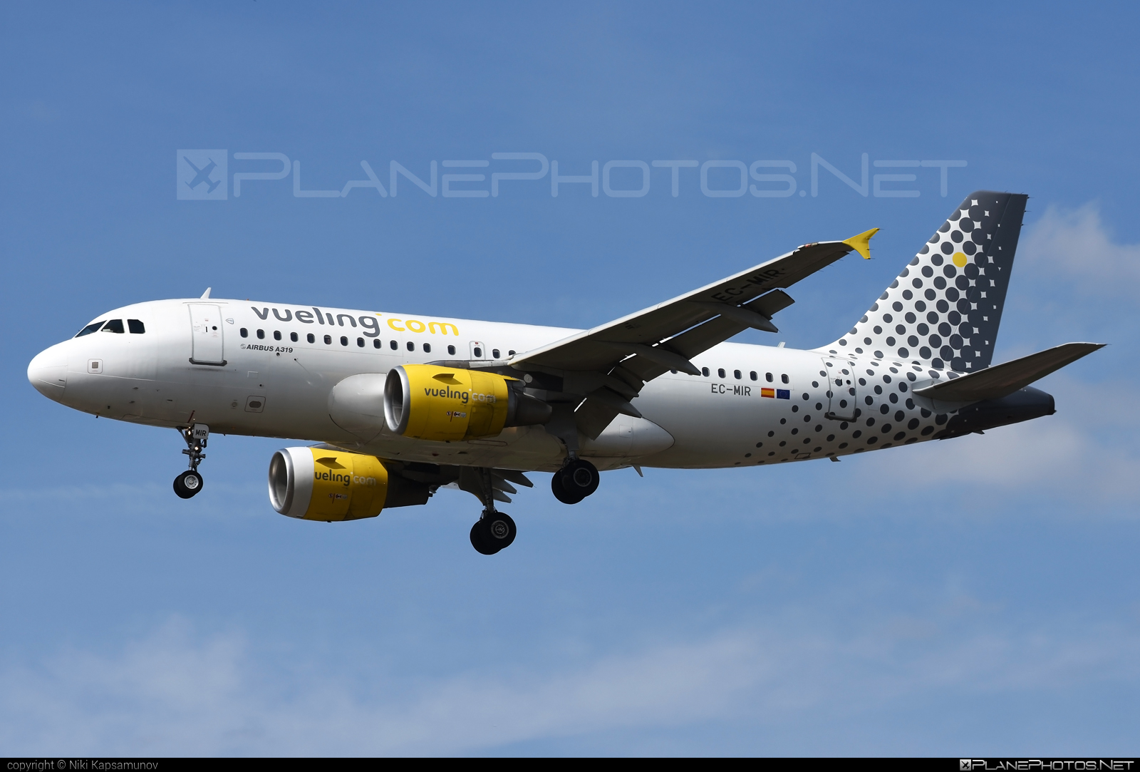 Airbus A319-111 - EC-MIR operated by Vueling Airlines #a319 #a320family #airbus #airbus319 #vueling #vuelingairlines
