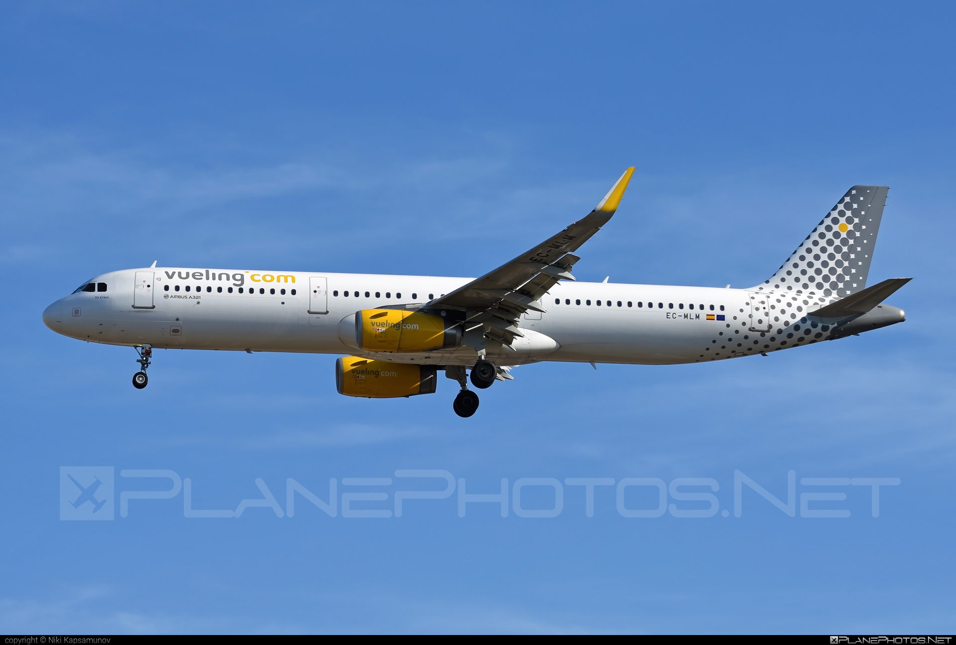 Airbus A321-231 - EC-MLM operated by Vueling Airlines #a320family #a321 #airbus #airbus321 #vueling #vuelingairlines