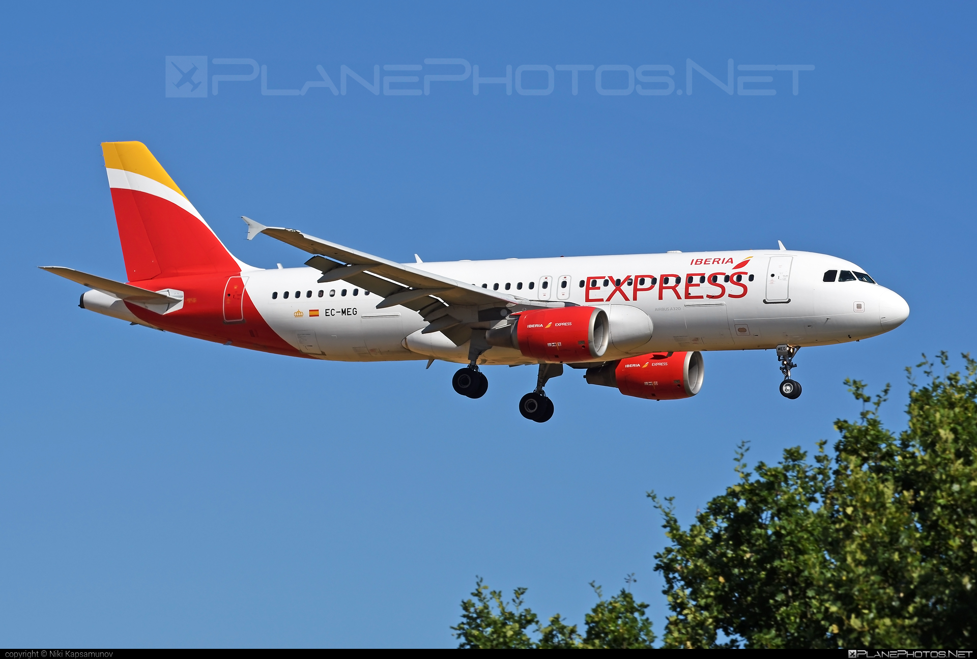 Airbus A320-214 - EC-MEG operated by Iberia Express #a320 #a320family #airbus #airbus320 #iberia #iberiaexpress
