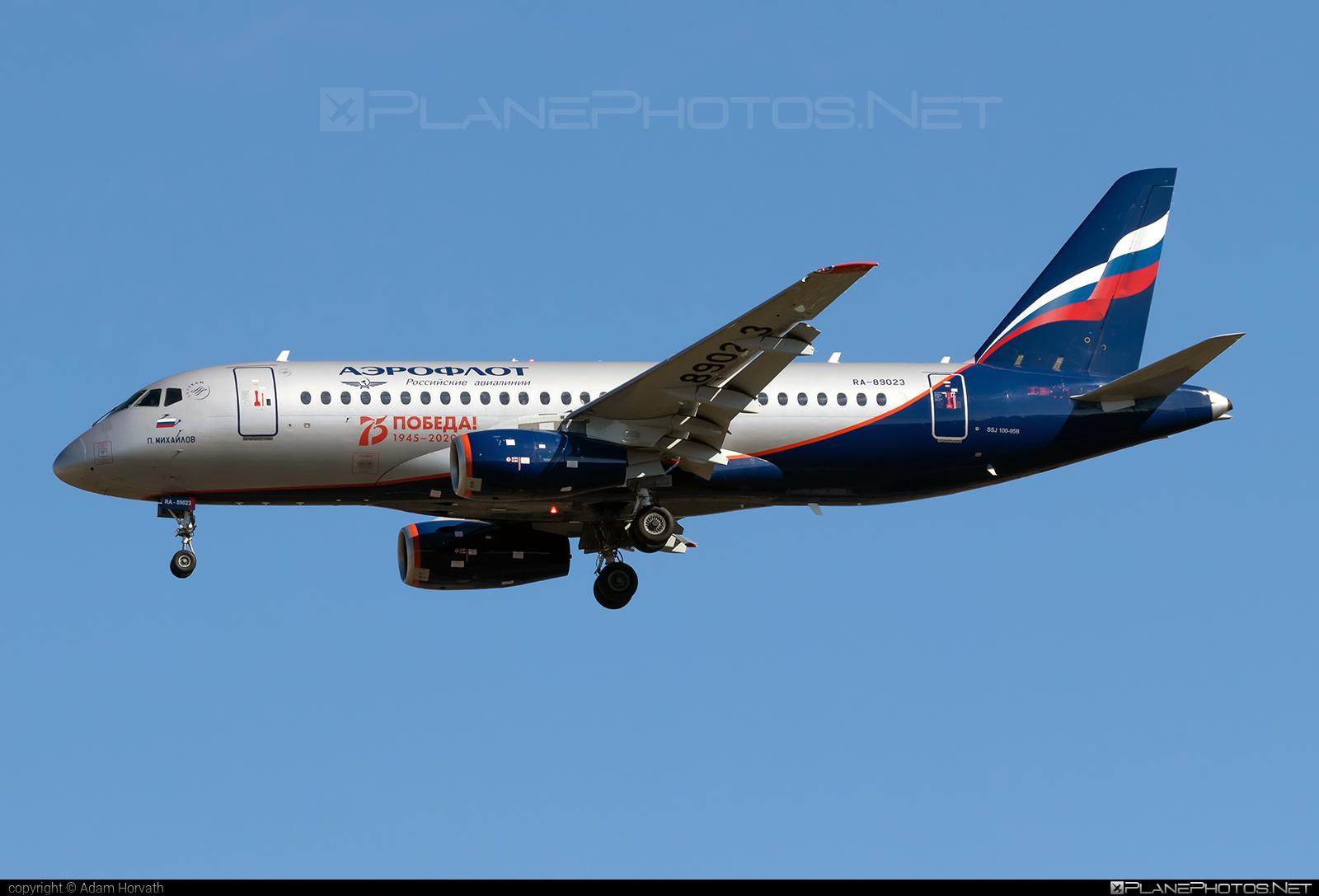 Sukhoi SSJ 100-95B Superjet - RA-89023 operated by Aeroflot #aeroflot #ssj100 #ssj10095b #sukhoi #sukhoisuperjet #superjet