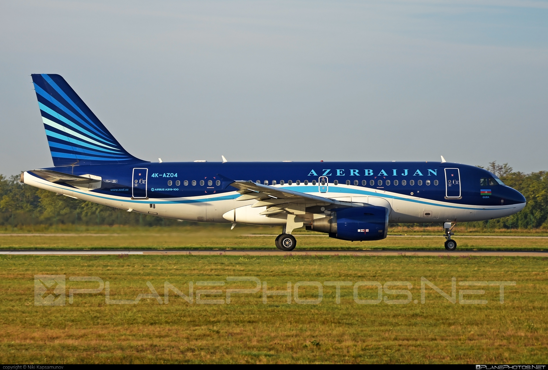 Airbus A319-111 - 4K-AZ04 operated by AZAL Azerbaijan Airlines #a319 #a320family #airbus #airbus319