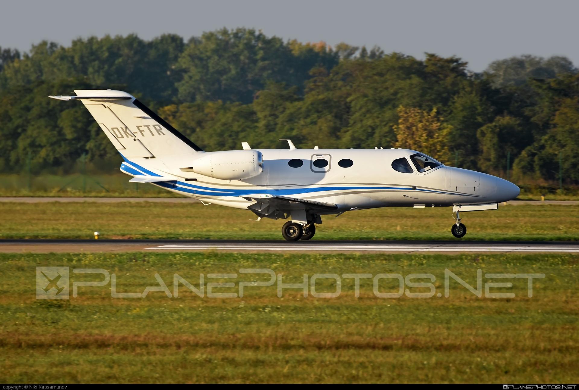 Cessna 510 Citation Mustang - OK-FTR operated by CTR flight services #cessna