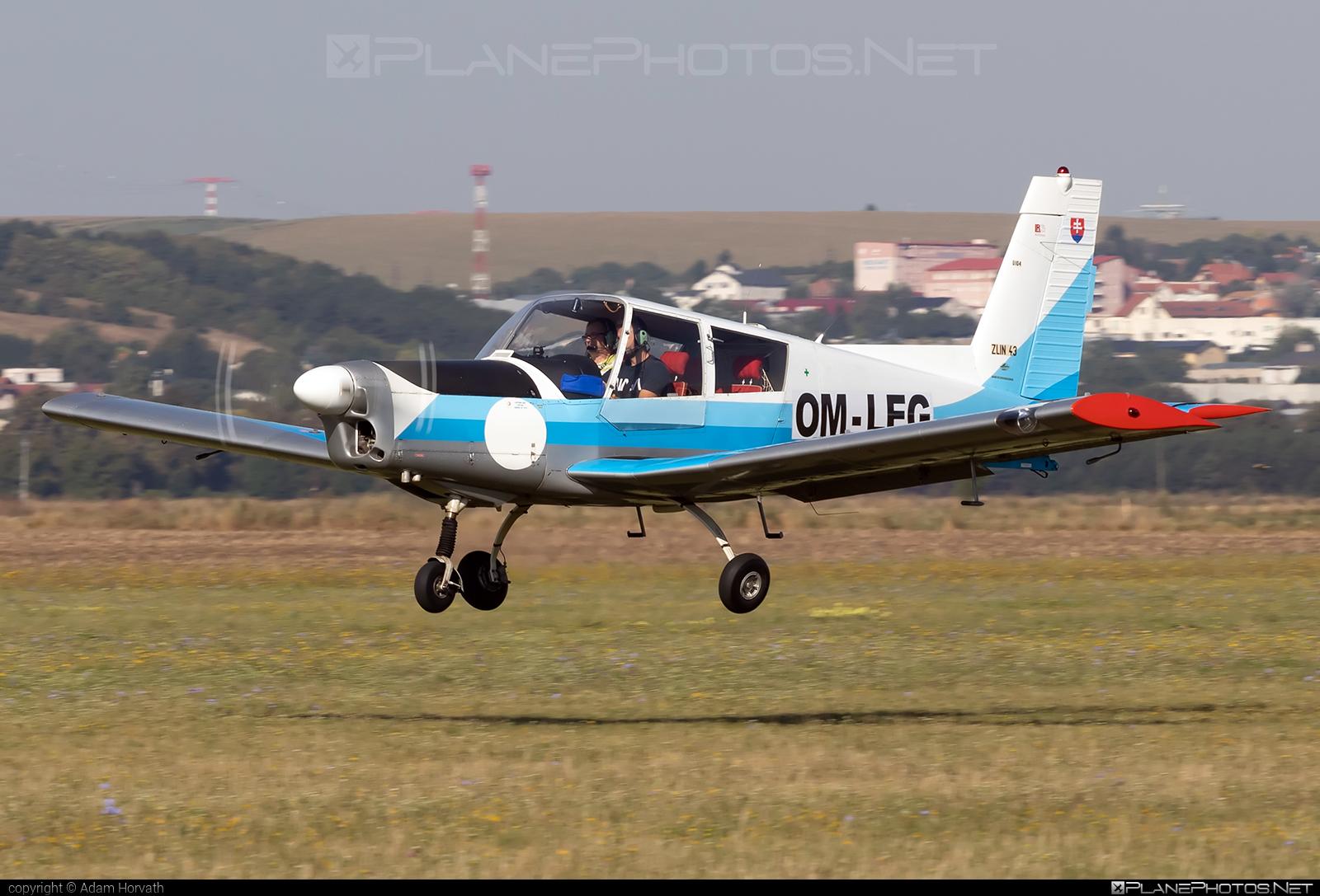 Zlin Z-43 - OM-LEG operated by Private operator #z43 #zlin #zlin43