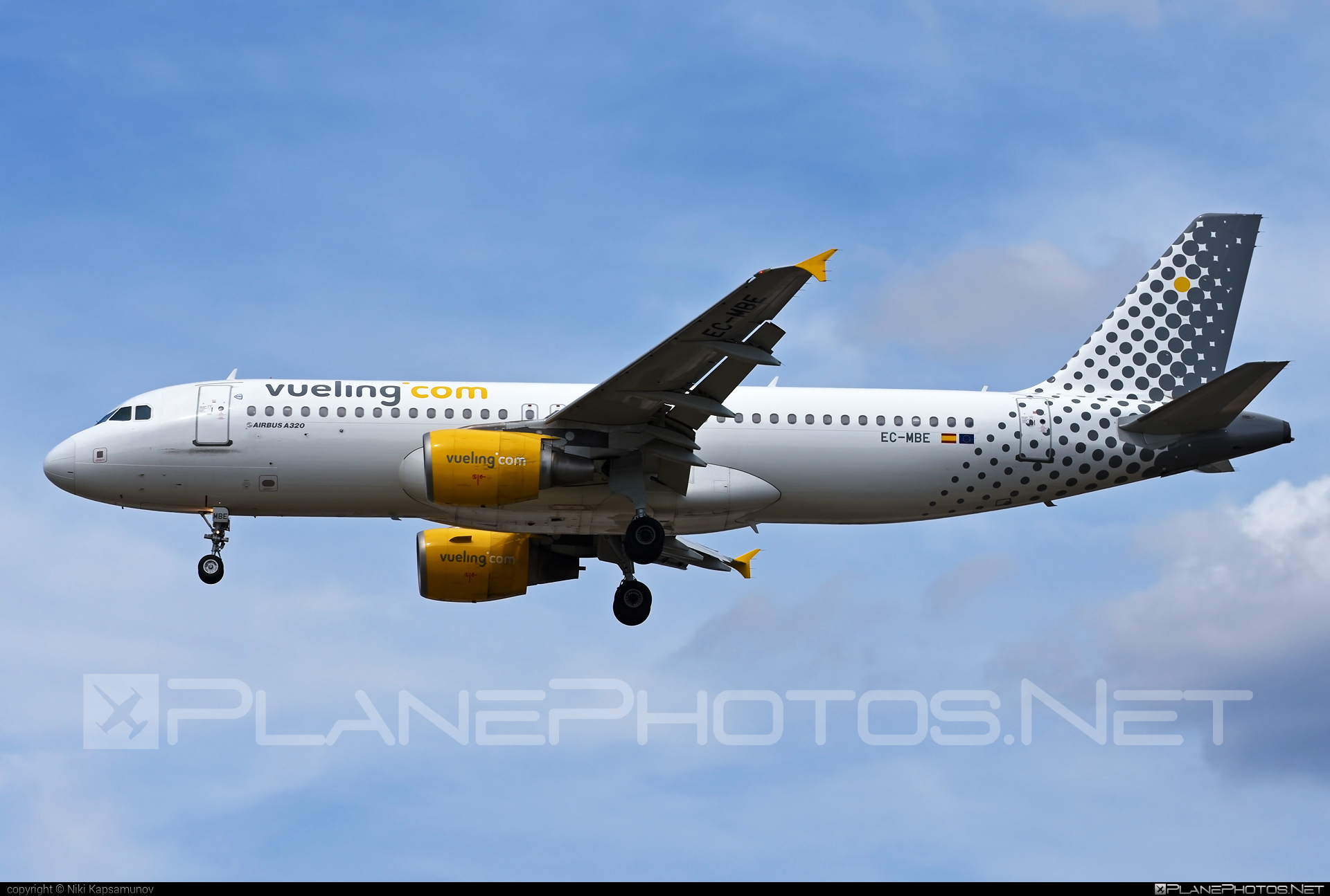 Airbus A320-214 - EC-MBE operated by Vueling Airlines #a320 #a320family #airbus #airbus320 #vueling #vuelingairlines