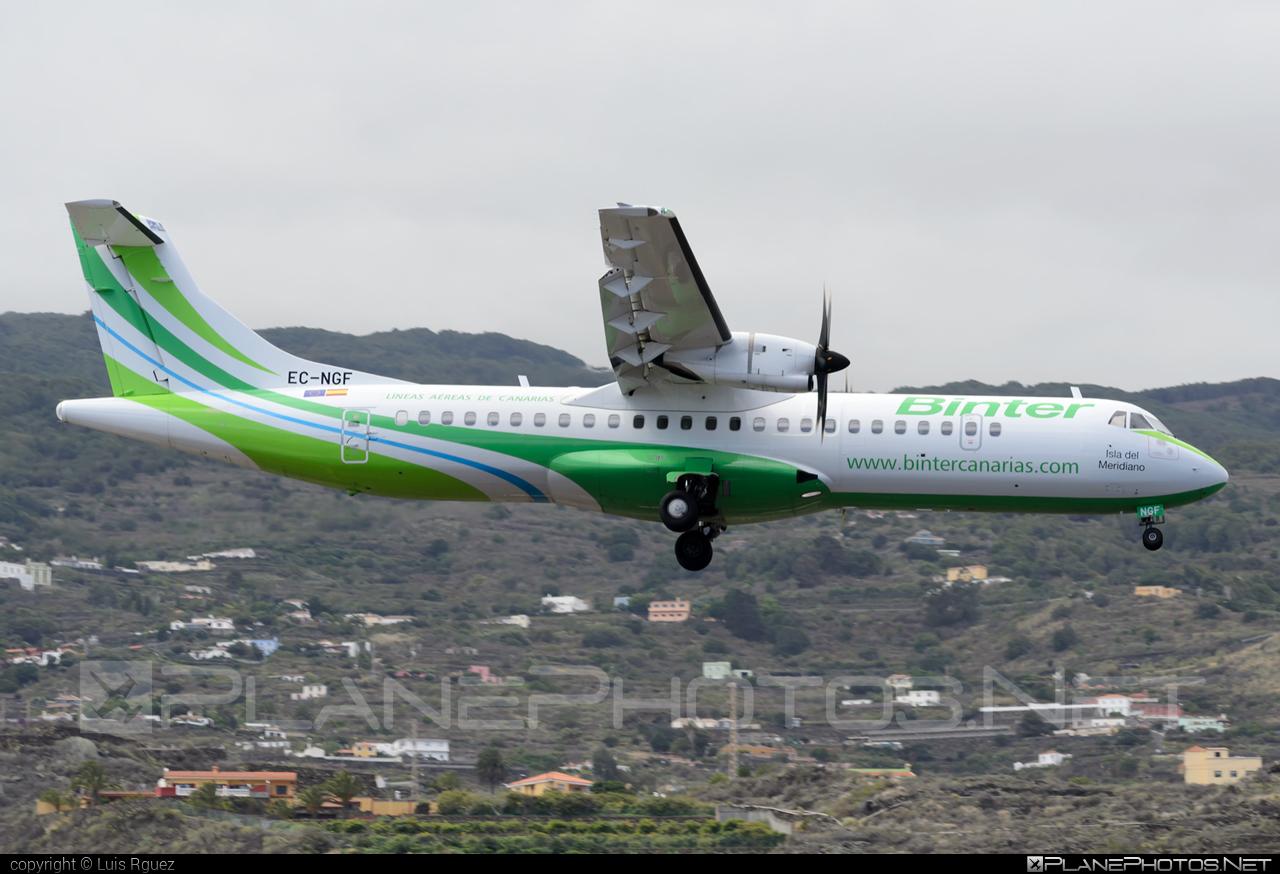 ATR 72-600 - EC-NGF operated by Binter Canarias #atr