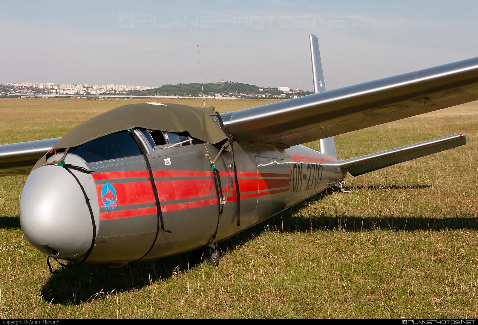 Let L-13A Blaník - OM-2707 operated by Slovenský národný aeroklub (Slovak National Aeroclub) #let