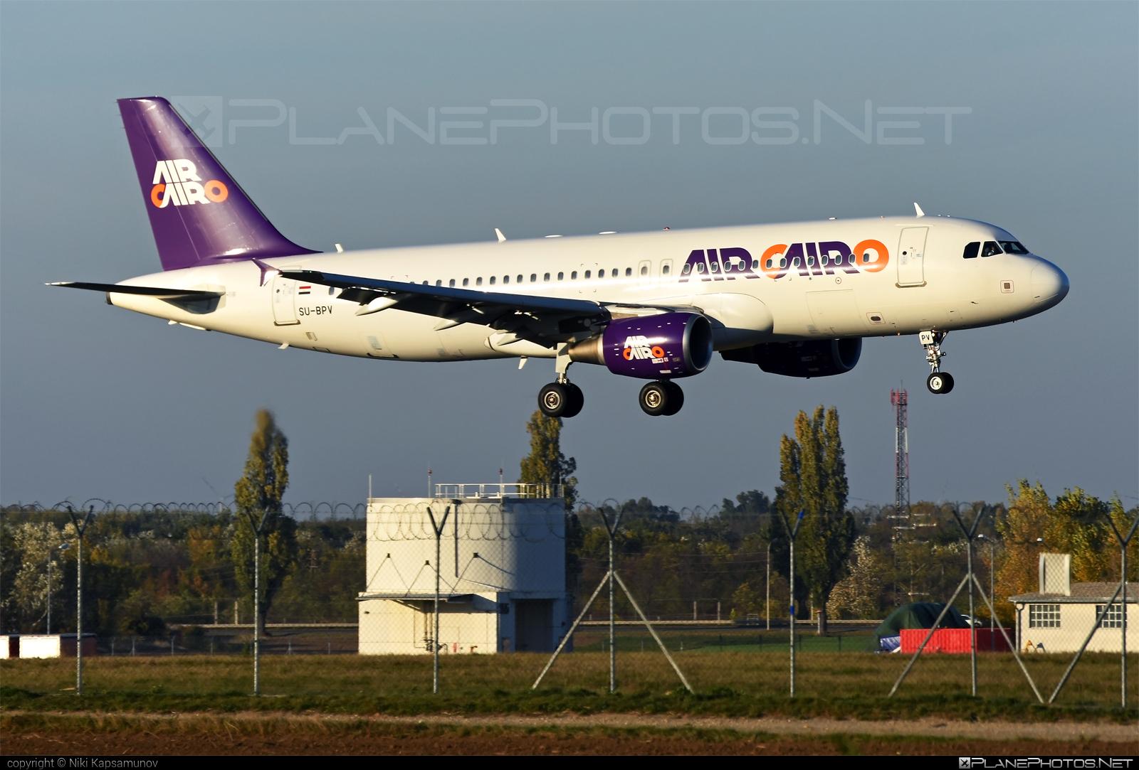 Airbus A320-214 - SU-BPV operated by Air Cairo #a320 #a320family #airbus #airbus320 #aircairo