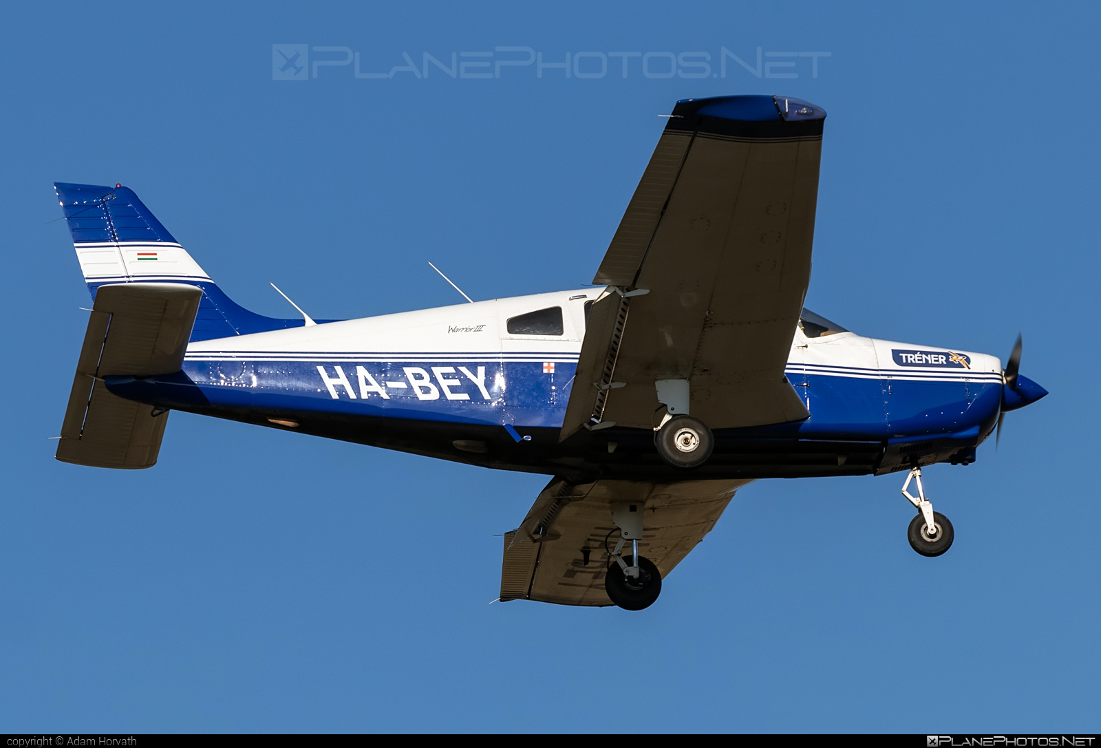 Piper PA-28-161 Warrior III - HA-BEY operated by Tréner Kft. #piper #trenerkft