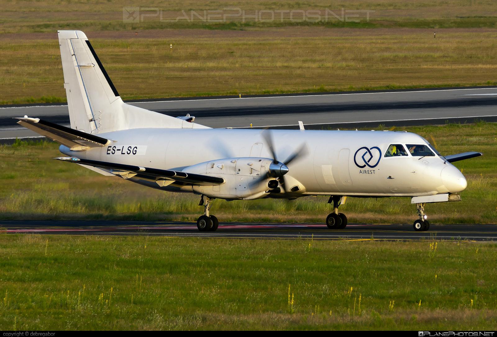 Saab 340A - ES-LSG operated by Airest #saab #saab340 #saab340a