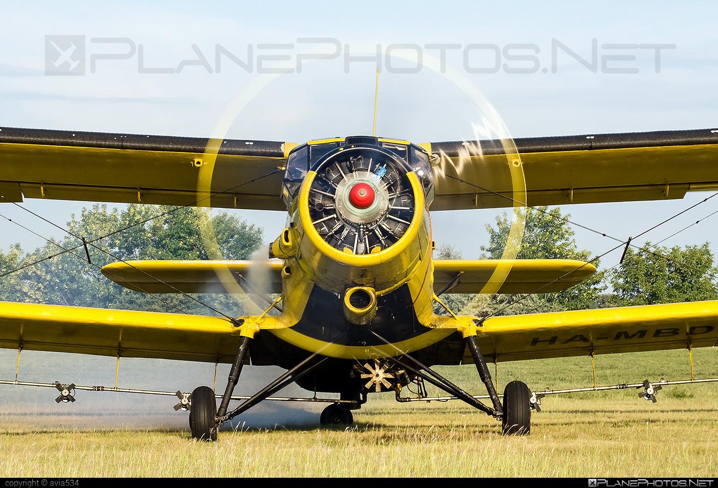 PZL-Mielec An-2R - HA-MBD operated by SZEMP Air Légiszolgáltató Kft. #an2 #an2r #antonov2 #pzl #pzlmielec #szempair