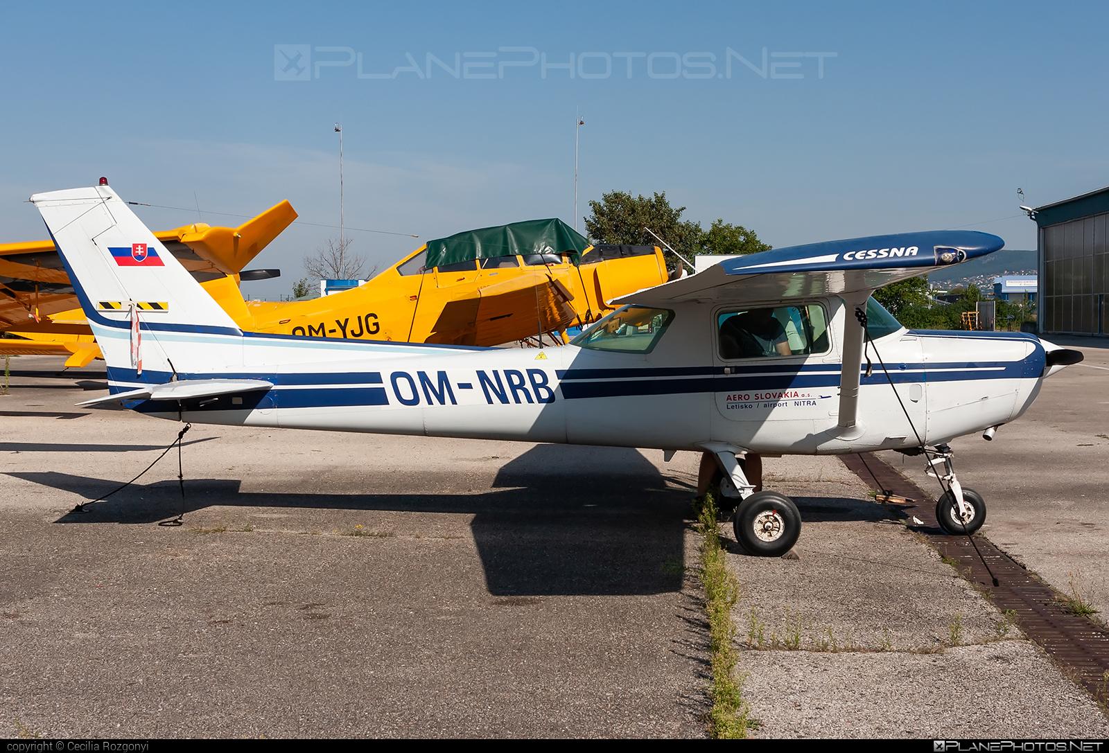 Cessna 152 - OM-NRB operated by AERO SLOVAKIA #aeroslovakia #cessna #cessna152