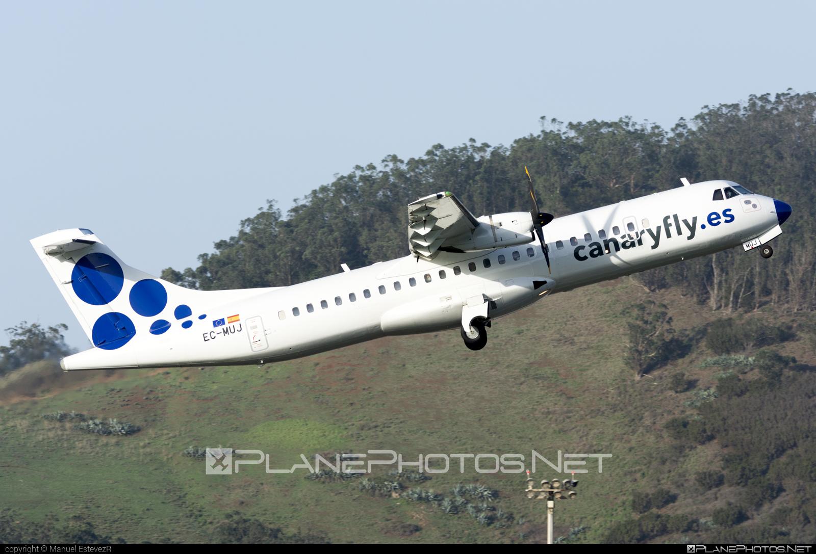 ATR 72-212A - EC-MUJ operated by Canaryfly #atr