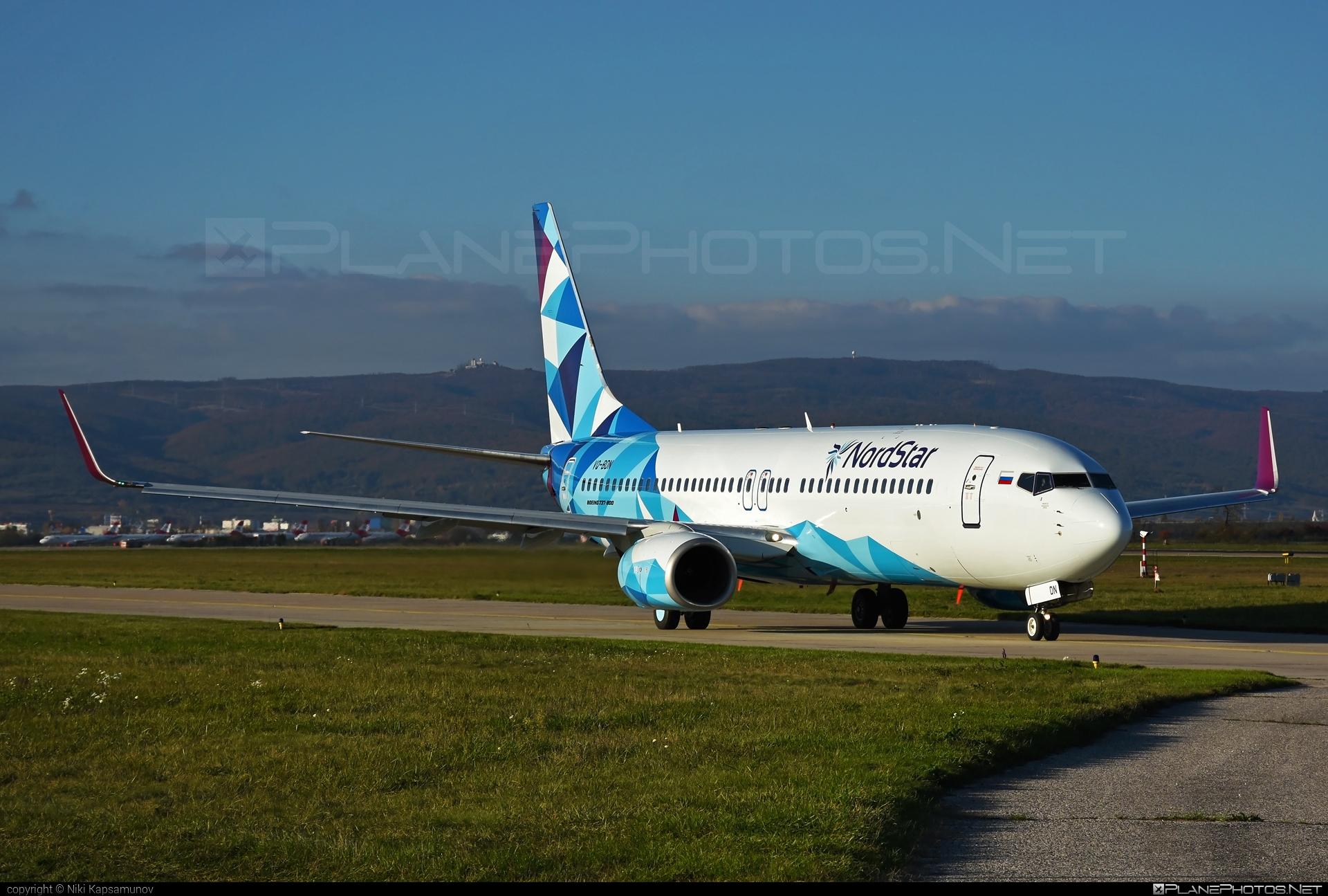 Boeing 737-800 - VQ-BDN operated by NordStar #b737 #b737nextgen #b737ng #boeing #boeing737