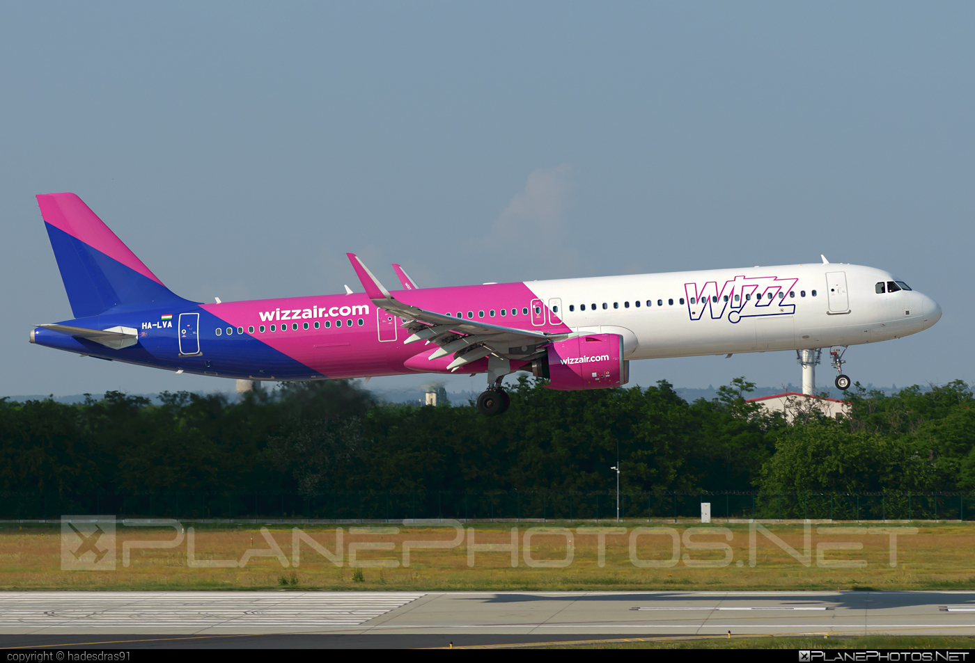 Airbus A321-271NX - HA-LVA operated by Wizz Air #a320family #a321 #a321neo #airbus #airbus321 #airbus321lr #wizz #wizzair
