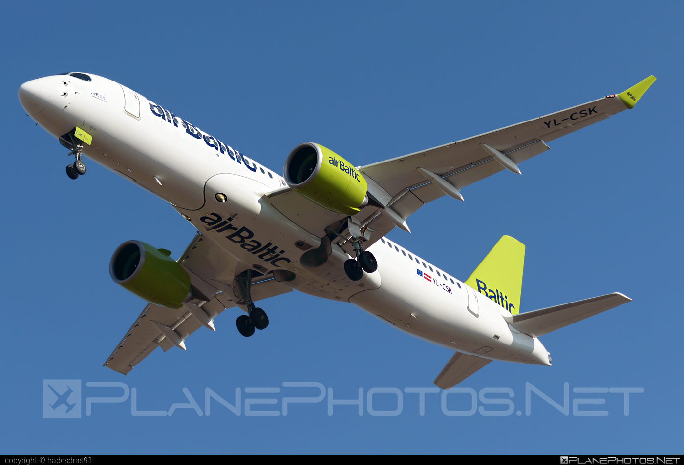 Airbus A220-300 - YL-CSK operated by Air Baltic #a220300 #a220family #airbaltic #airbus #cs300 #cseries #cseries300