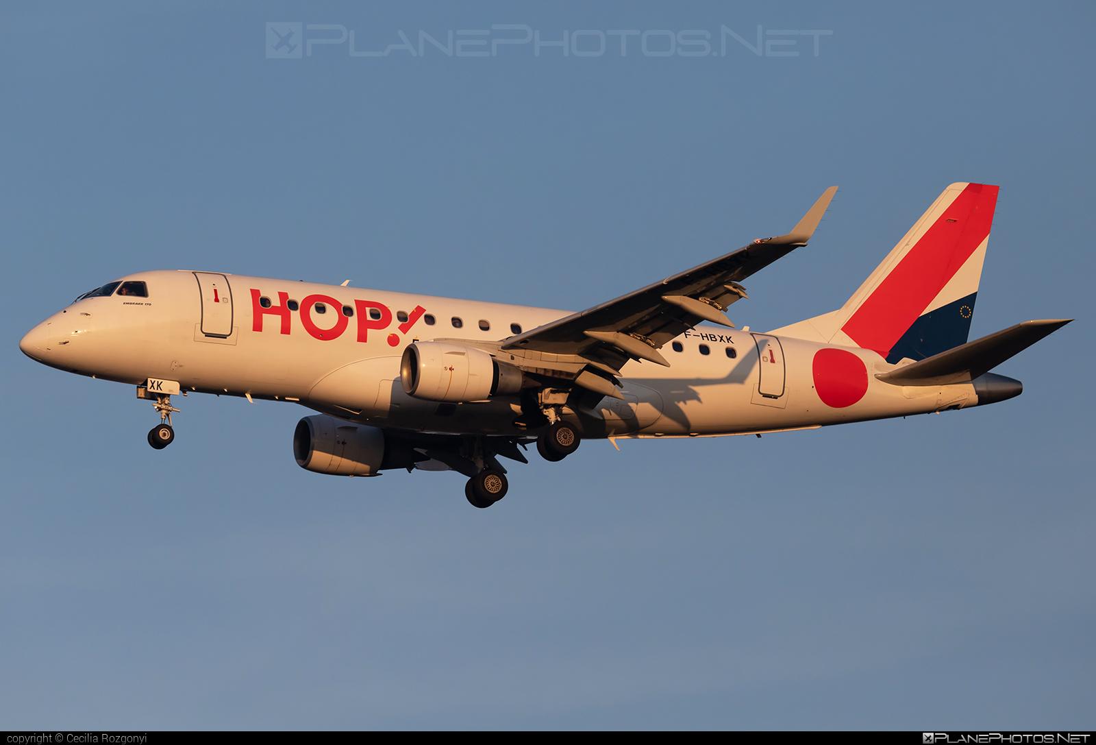 Embraer E170LR (ERJ-170-100LR) - F-HBXK operated by HOP! #e170 #embraer #embraer170 #embraer170lr #erj170 #erj170100 #erj170100lr #erj170lr #hopairlines