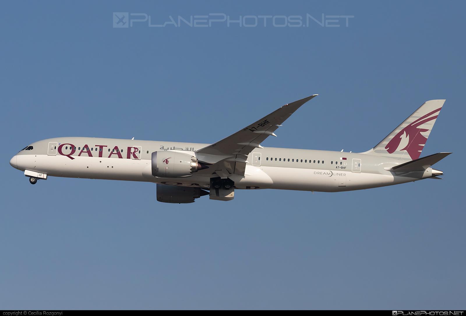 Boeing 787-9 Dreamliner - A7-BHF operated by Qatar Airways #b787 #boeing #boeing787 #dreamliner #qatarairways