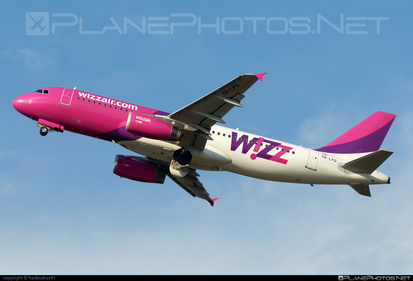 Airbus A320-232 - HA-LPQ operated by Wizz Air #a320 #a320family #airbus #airbus320 #wizz #wizzair
