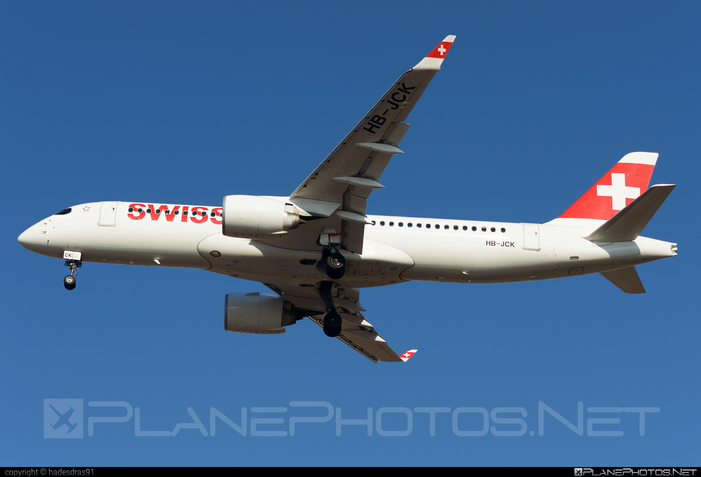 Bombardier BD-500-1A11 C Series CS300 - HB-JCK operated by Swissair #bombardier #cs300 #cseries #cseries300 #swissair