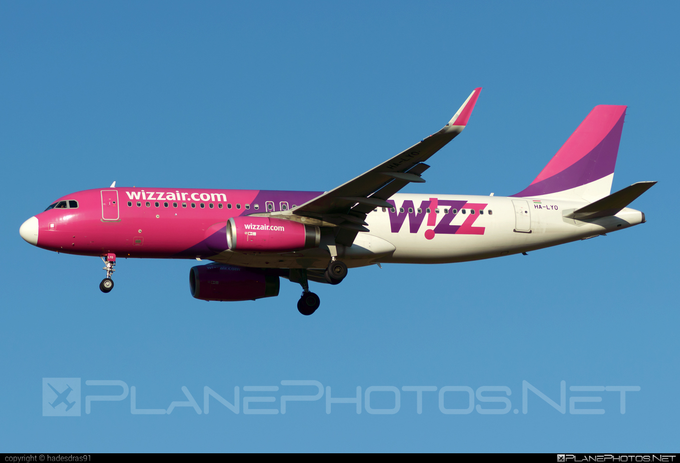 Airbus A320-232 - HA-LYO operated by Wizz Air #a320 #a320family #airbus #airbus320 #wizz #wizzair