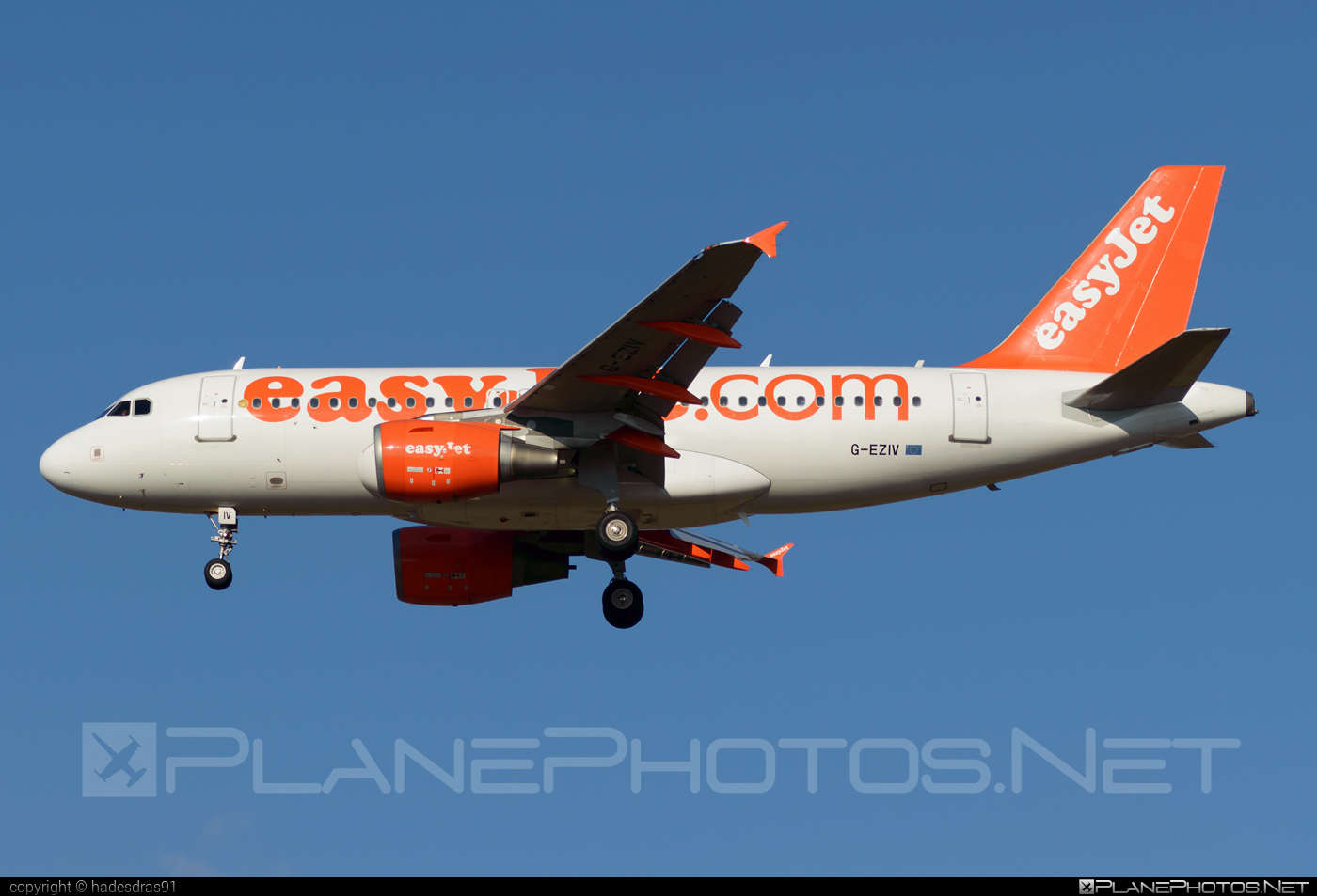 Airbus A319-111 - G-EZIV operated by easyJet #a319 #a320family #airbus #airbus319 #easyjet