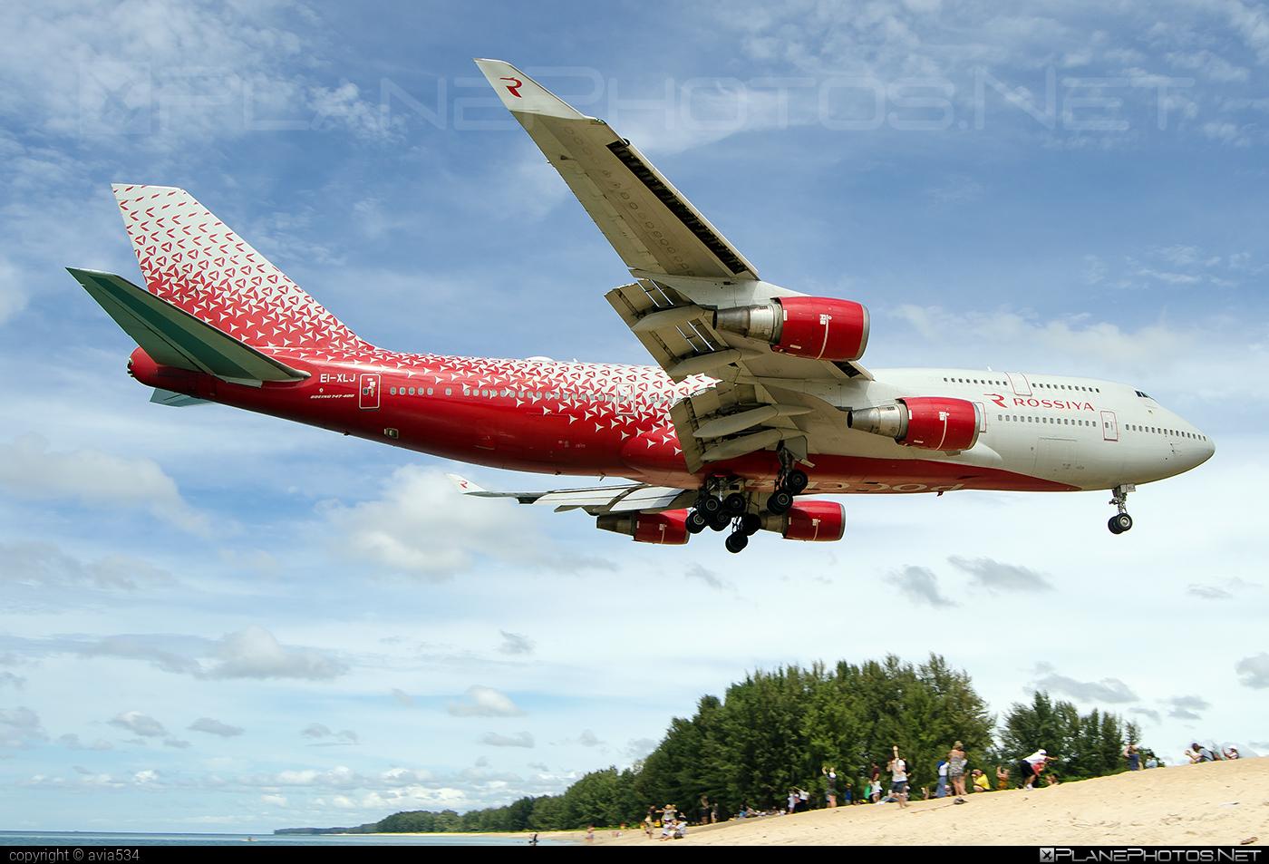 Boeing 747-400 - EI-XLJ operated by Rossiya Airlines #b747 #boeing #boeing747 #jumbo