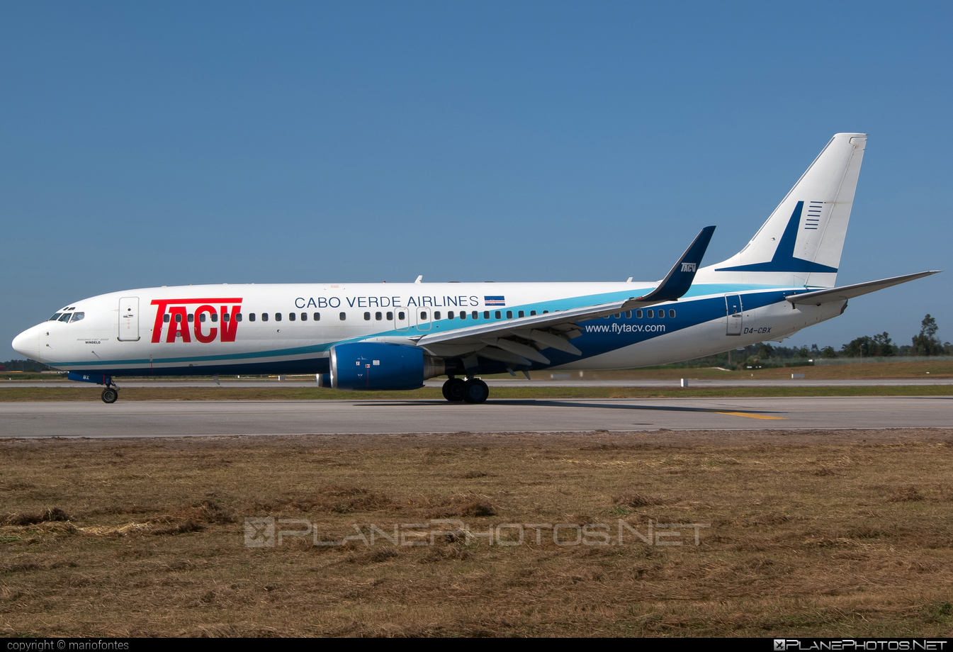 Boeing 737-800 - D4-CBX operated by TACV Cabo Verde Airlines #b737 #b737nextgen #b737ng #boeing #boeing737
