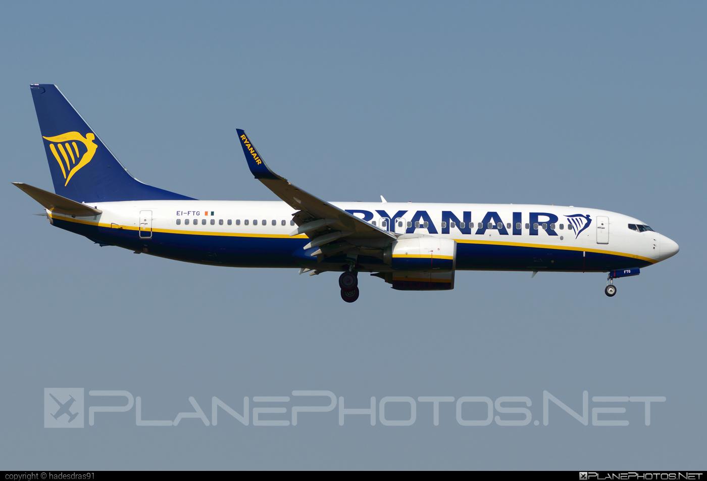 Boeing 737-800 - EI-FTG operated by Ryanair #b737 #b737nextgen #b737ng #boeing #boeing737 #ryanair