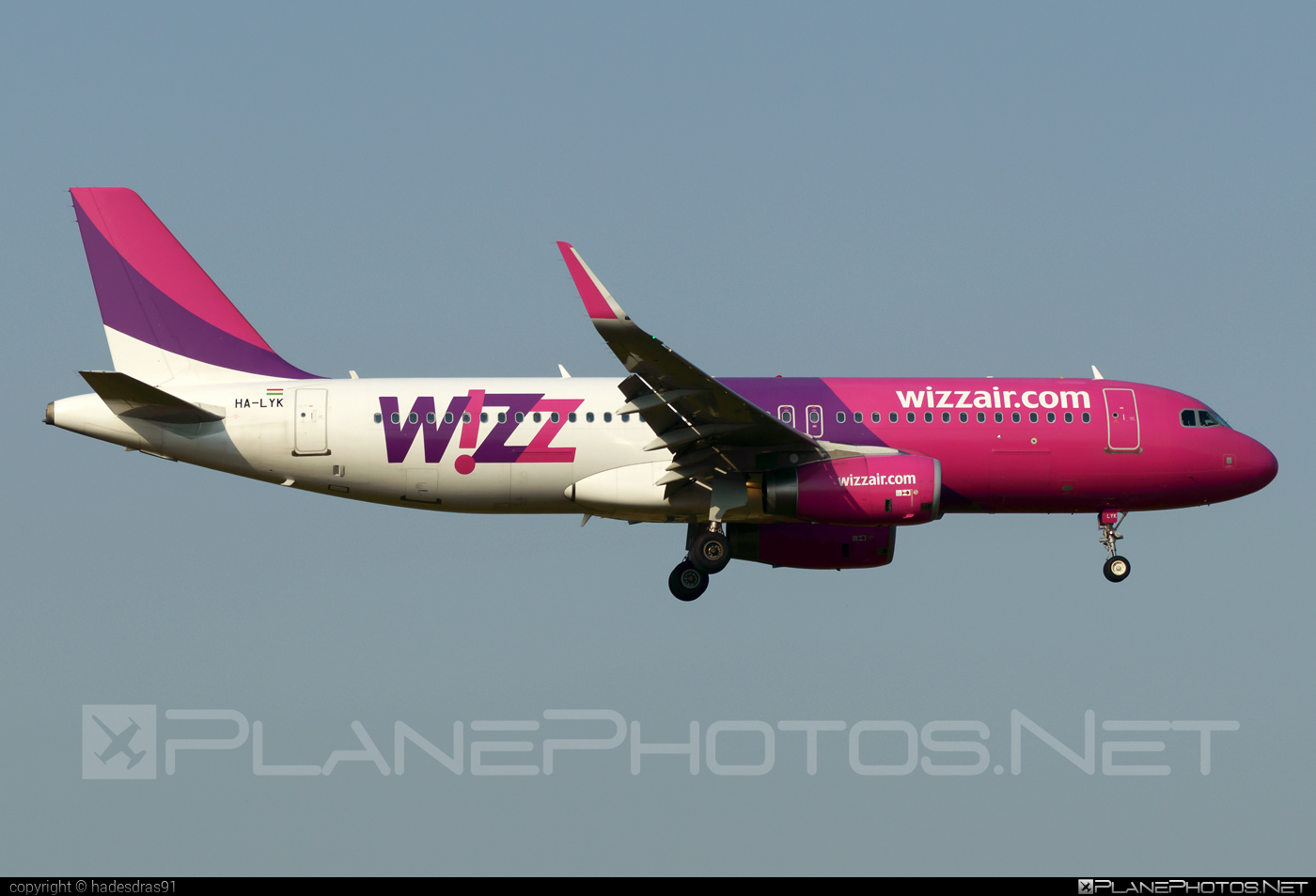 Airbus A320-232 - HA-LYK operated by Wizz Air #a320 #a320family #airbus #airbus320 #wizz #wizzair