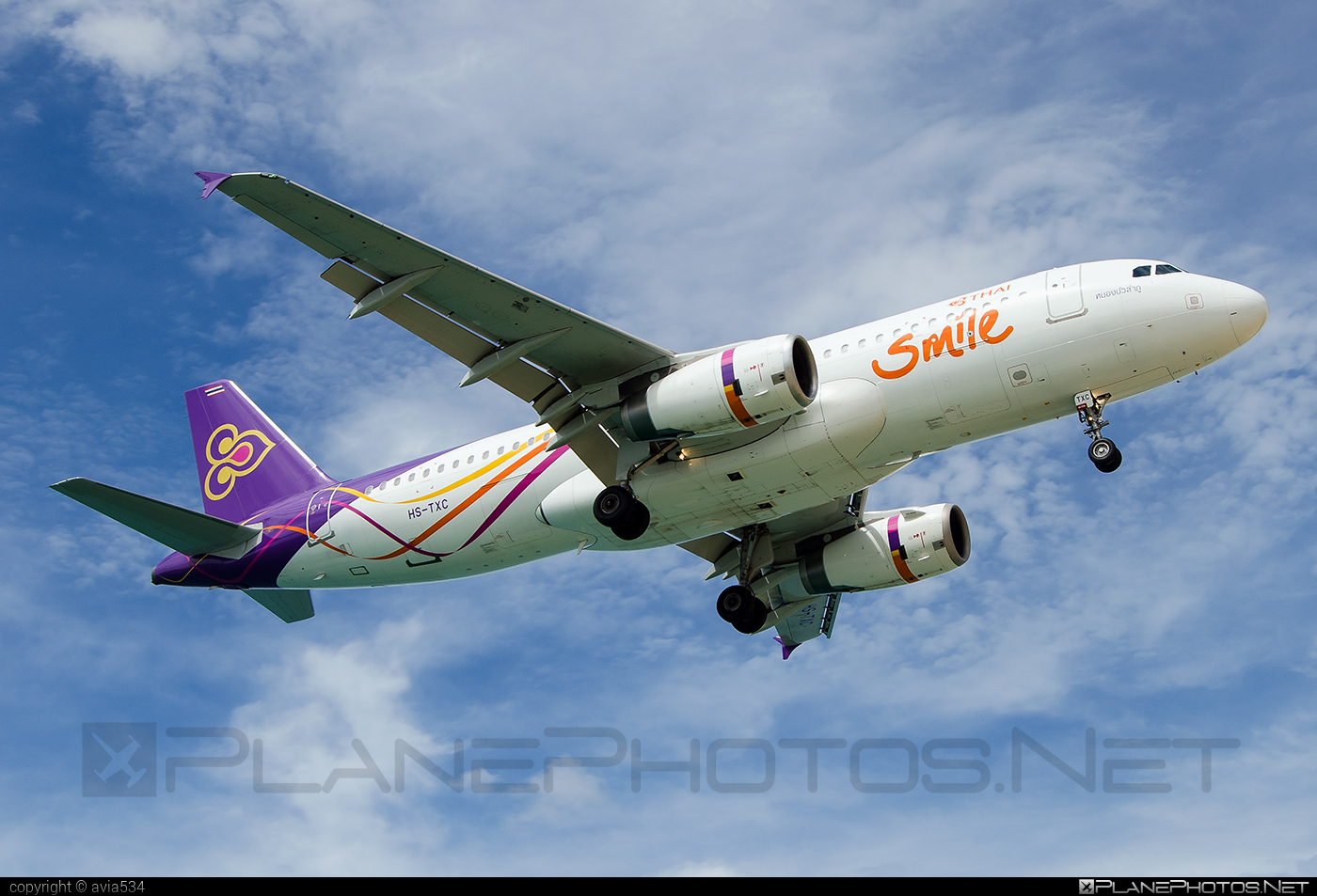 Airbus A320-232 - HS-TXC operated by Thai Smile #a320 #a320family #airbus #airbus320 #thaismile