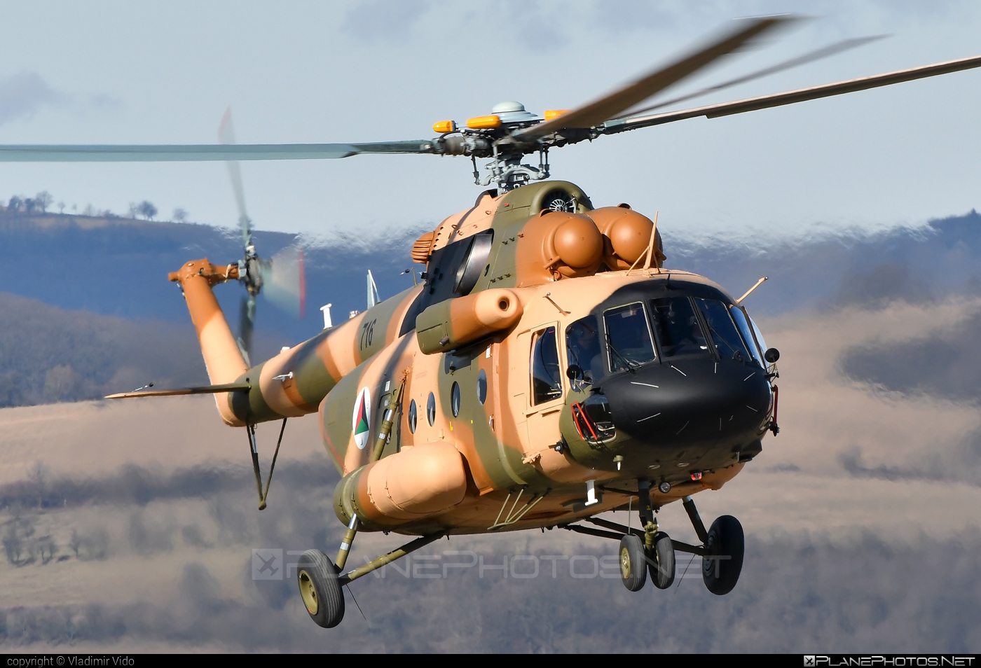 Mil Mi-17V-5 - 716 operated by Afghan Air Force #afghanairforce #mi17 #mi17v5 #mil #mil17 #milhelicopters